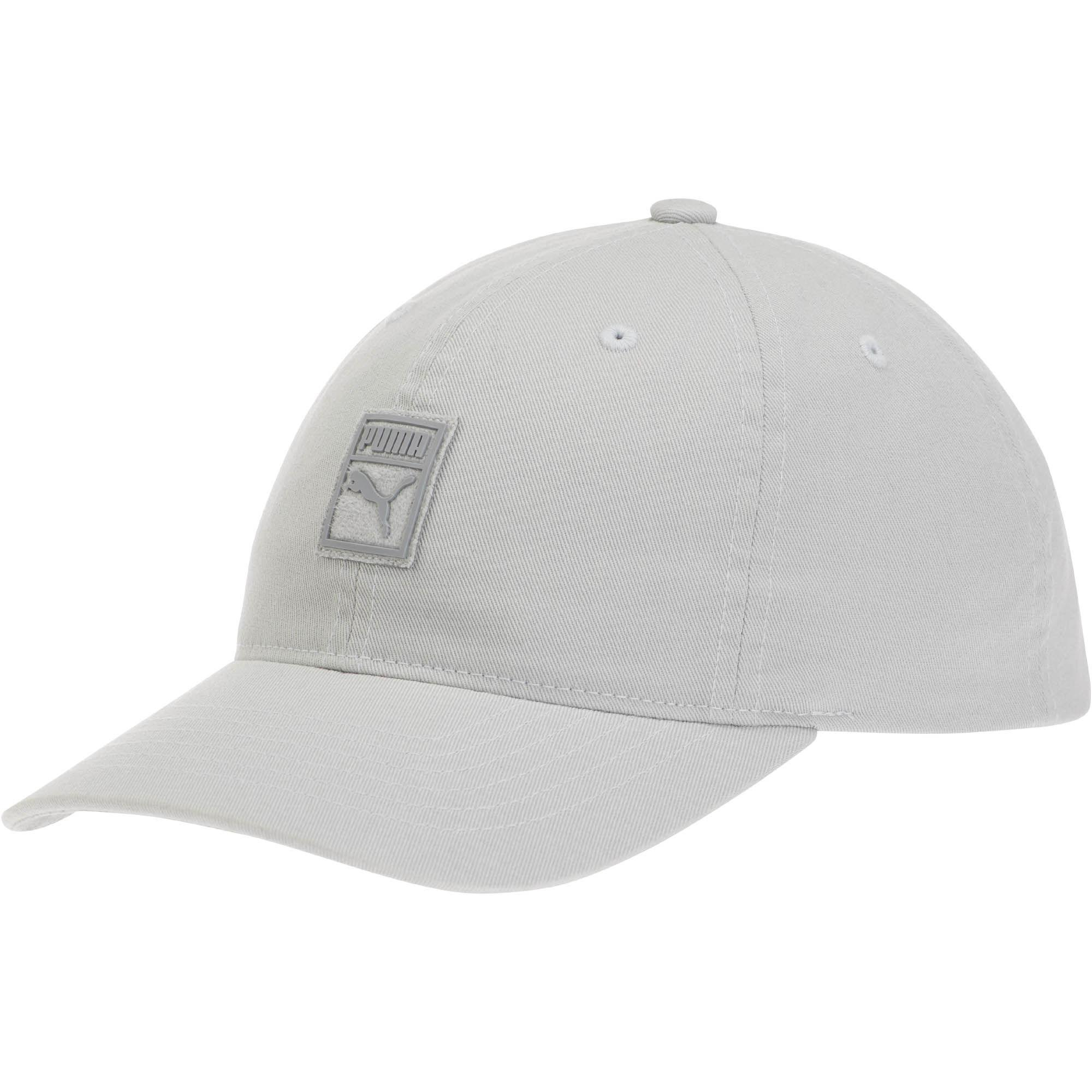eb02306e6fd4b ... closeout lyst puma papa suede relaxed adjustable hat in gray for men  b2a0b d561c
