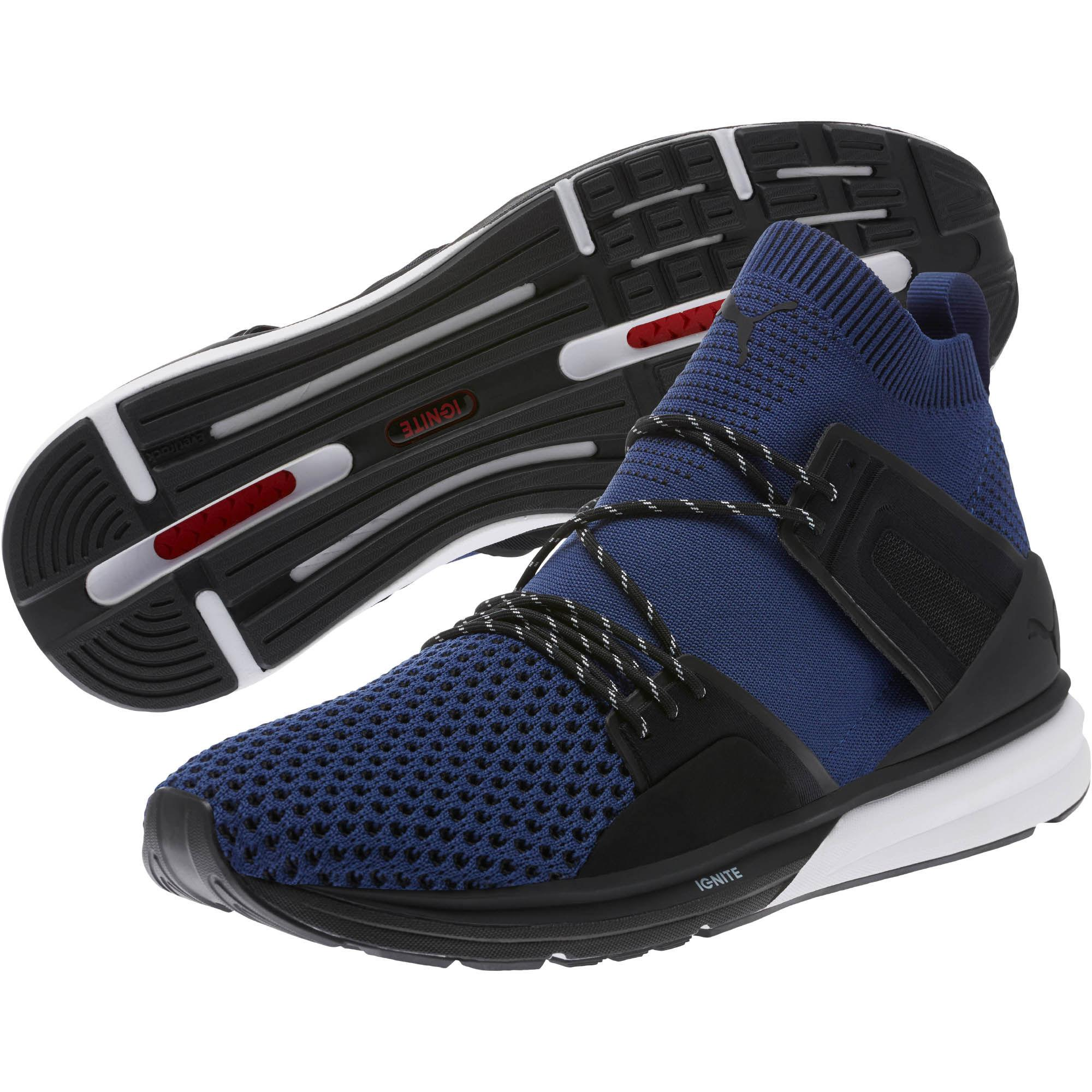 Lyst - PUMA B.o.g Limitless Hi Evoknit Men s Training Shoes in Blue ... da7e56f91