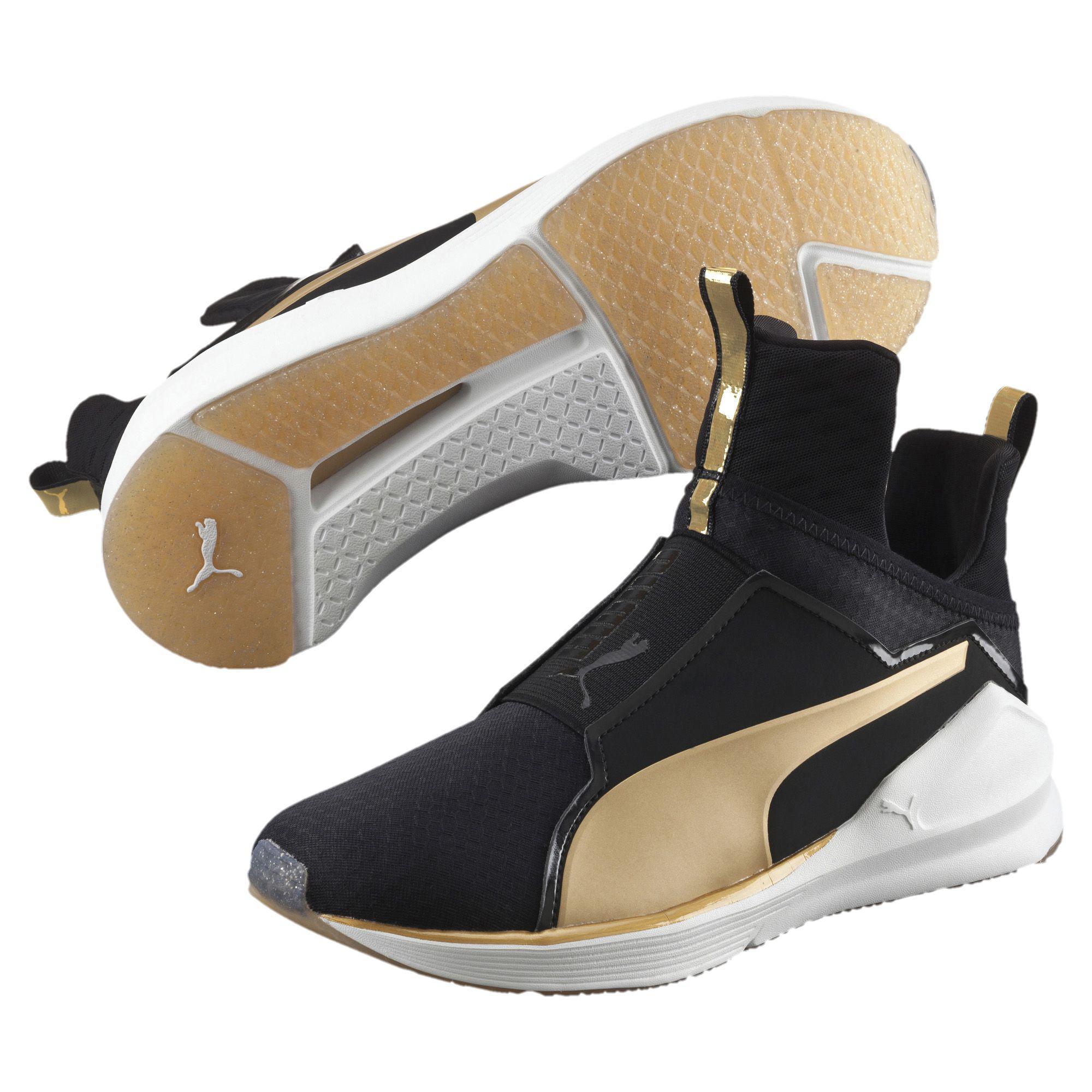 Lyst - PUMA Fierce Gold Women s Training Shoes f5c67b7e9