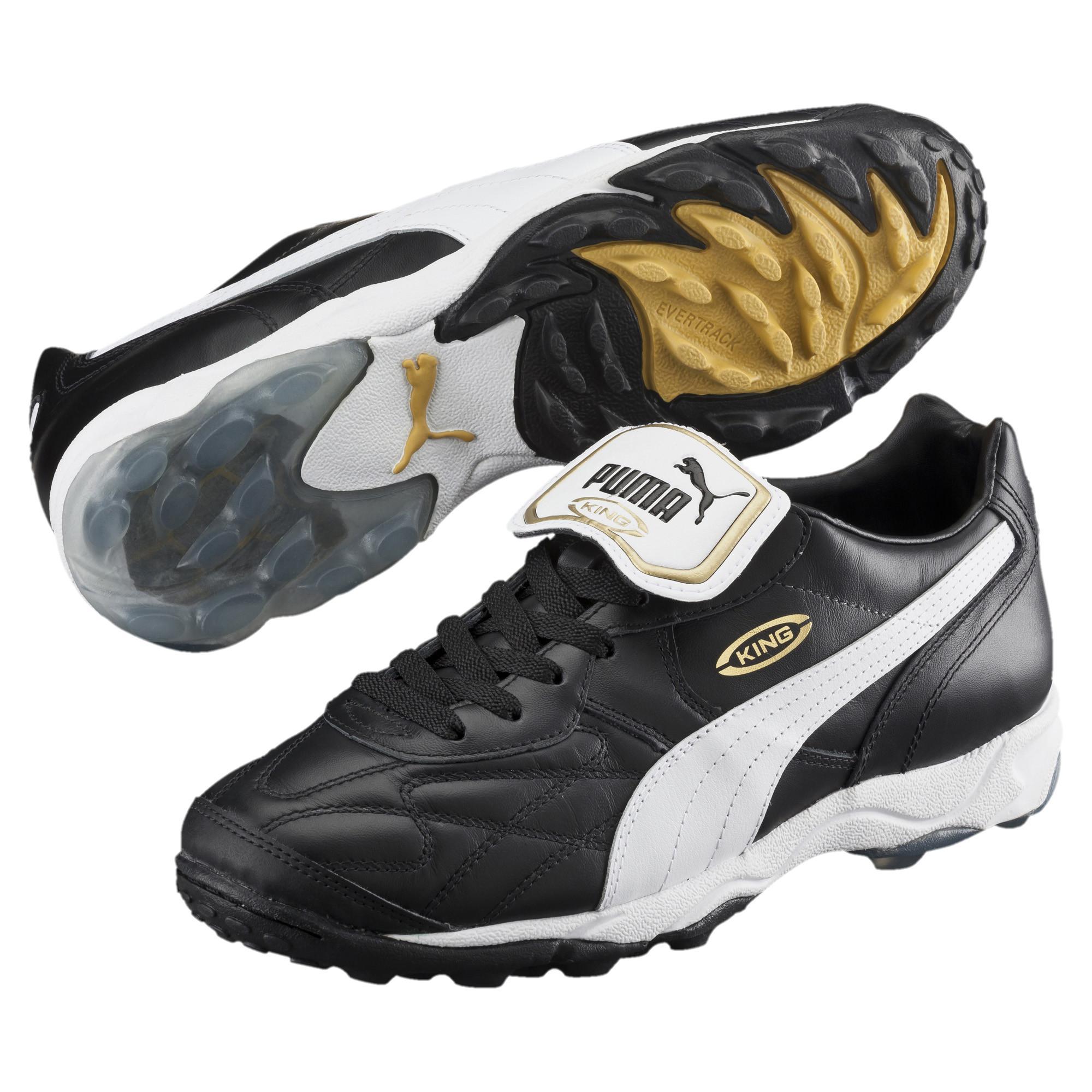 71ecf7ac6b4b PUMA - Black Soccer Shoe King Allround Tt for Men - Lyst. View fullscreen