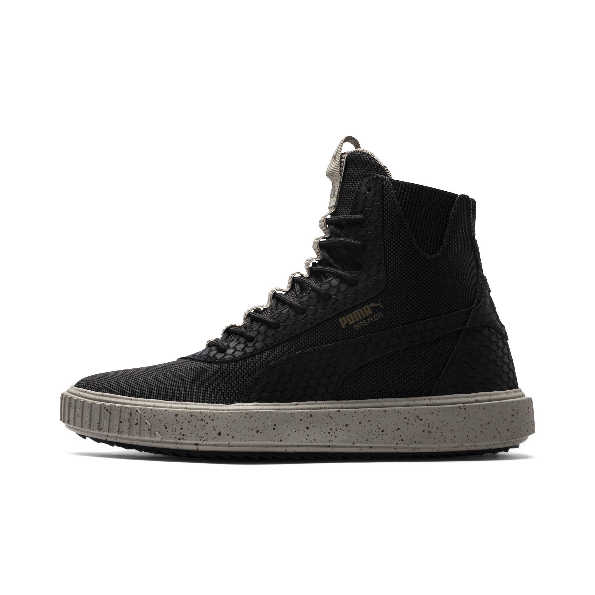 0dd834f0efa Lyst - PUMA Evolution Breaker Hi Blocked Sneakers in Black for Men