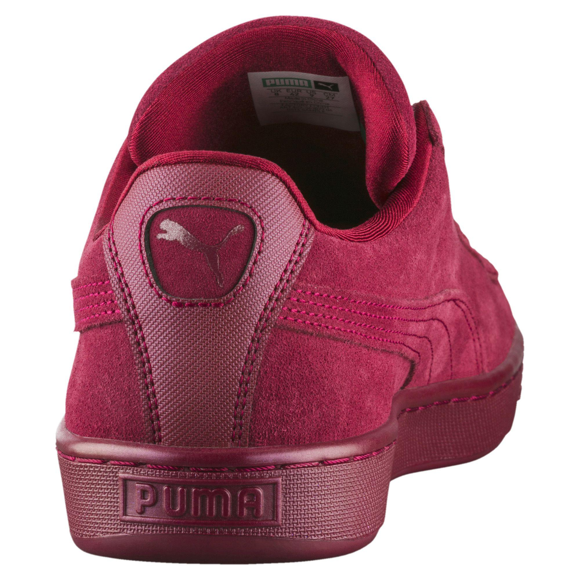 add8263adf69 Lyst - PUMA Suede Classic Anodized Sneakers in Red