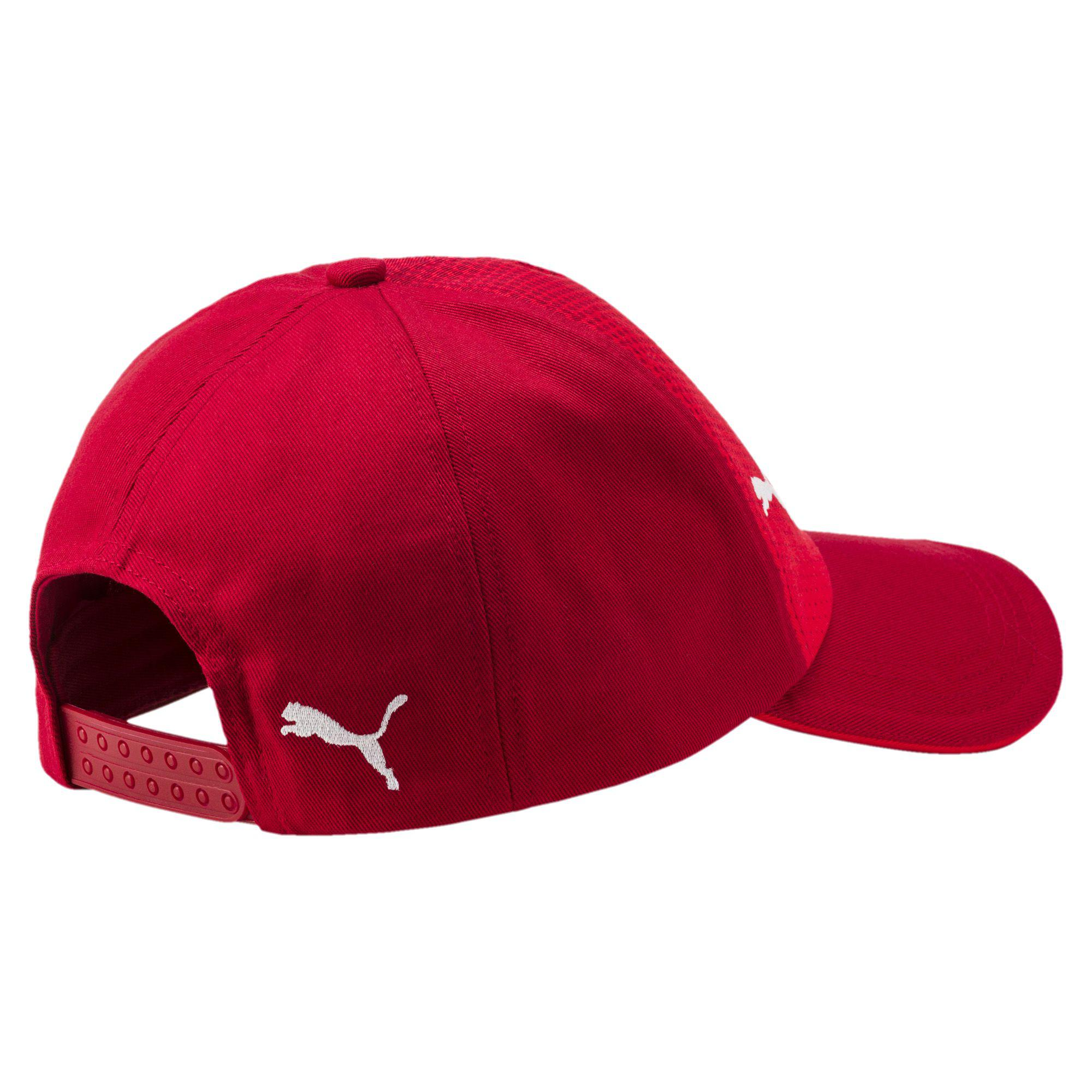 9749a45544c ... discount code for lyst puma arsenal hat in red for men 1bd39 1edcb