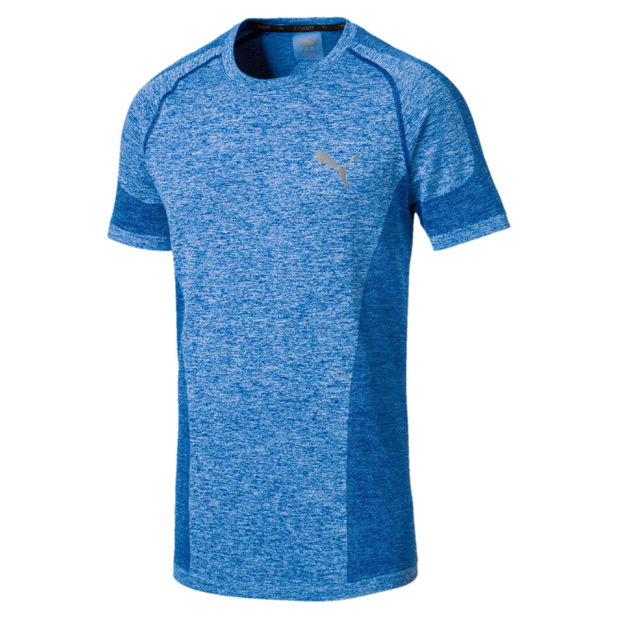 PUMA. Blue Evoknit Best Men's T-shirt