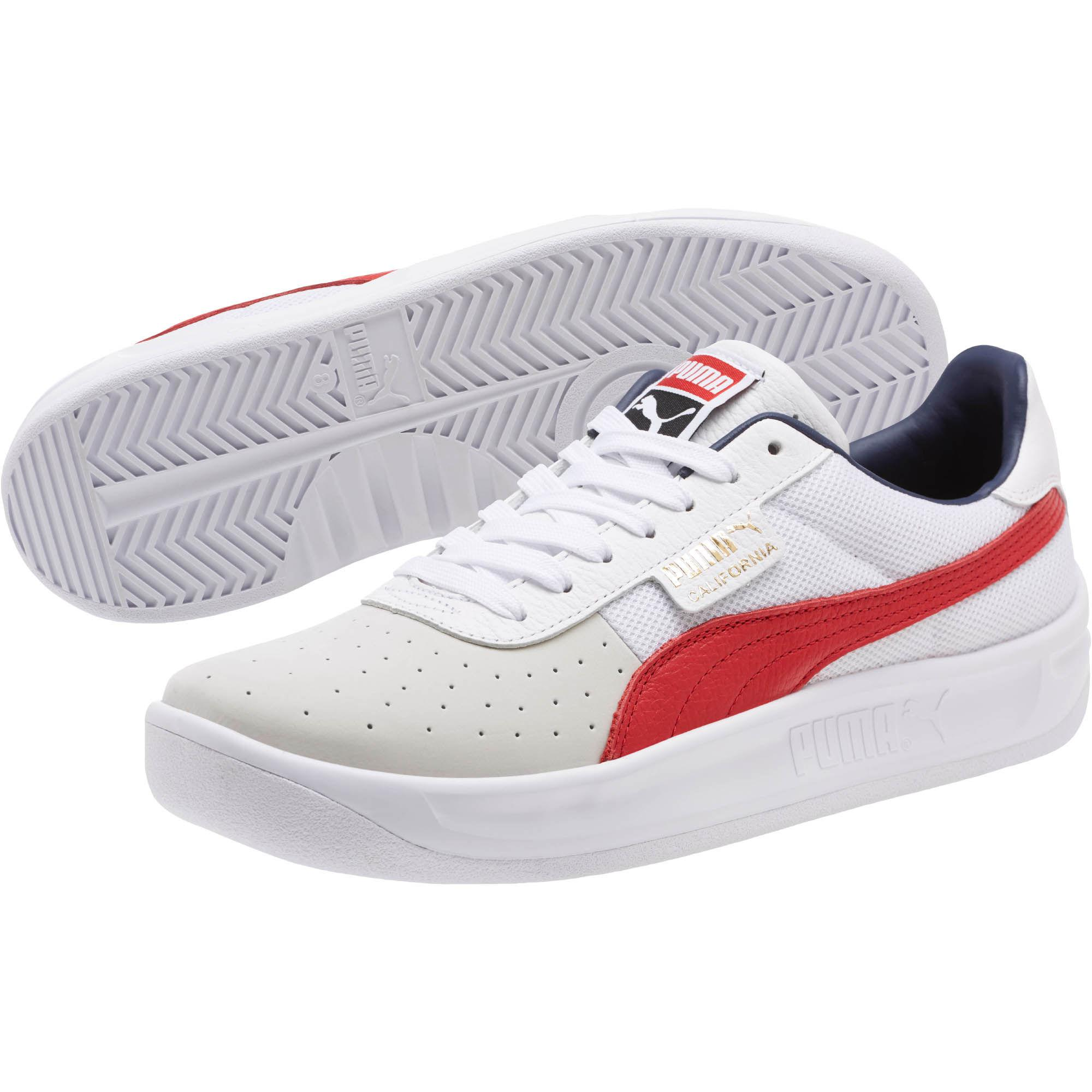 816c8a09ad5d PUMA - White California Casual Sneakers for Men - Lyst. View fullscreen