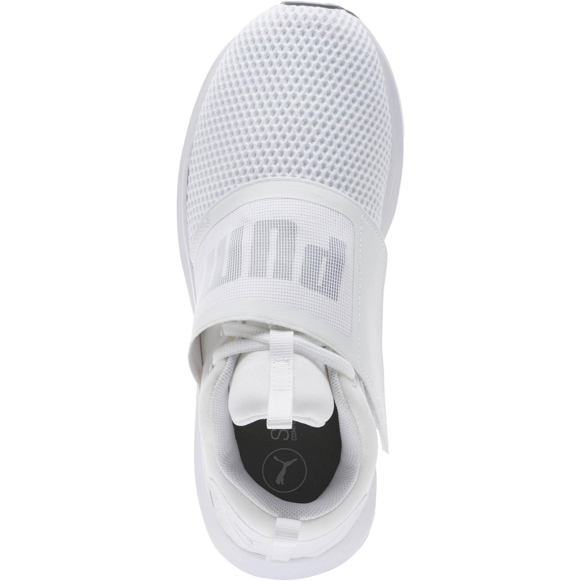cf004fa9c370 Lyst - PUMA Enzo Strap Women s Running Shoes in White