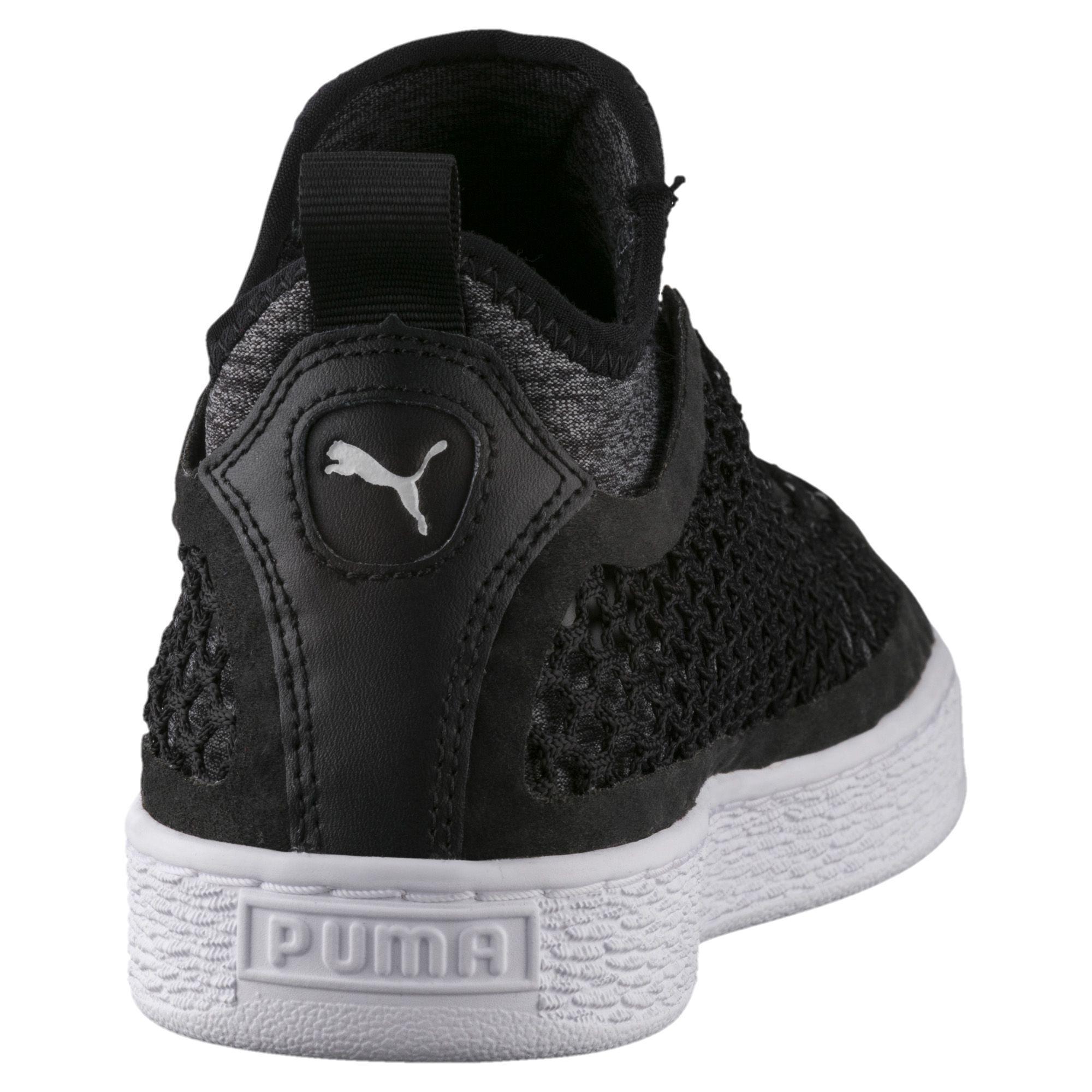 Lyst - PUMA Basket Classic Netfit Sneakers in Black for Men b06f57e11