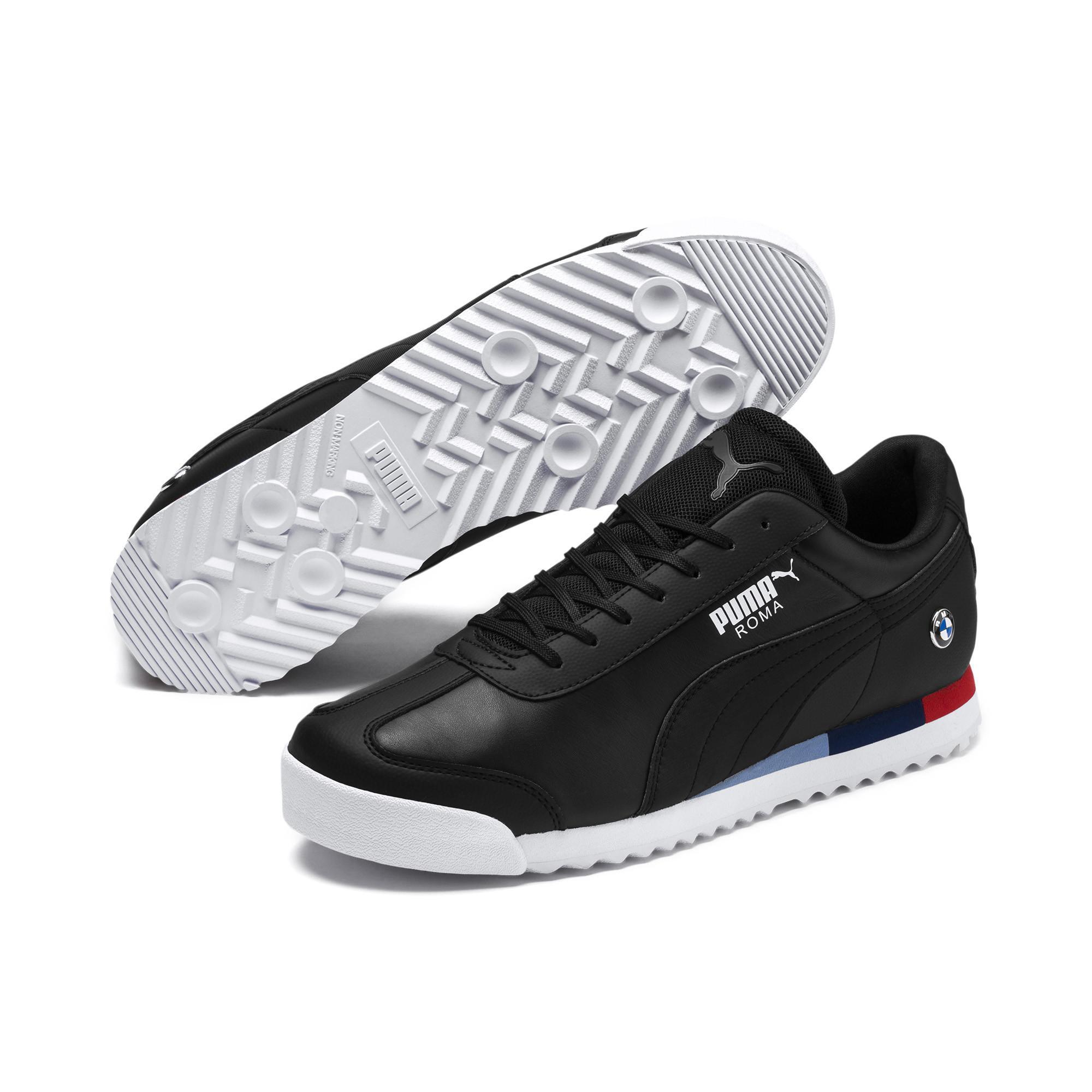 0ee97ab4a99b52 PUMA - Black Bmw Mms Roma  s Sneakers for Men - Lyst. View fullscreen