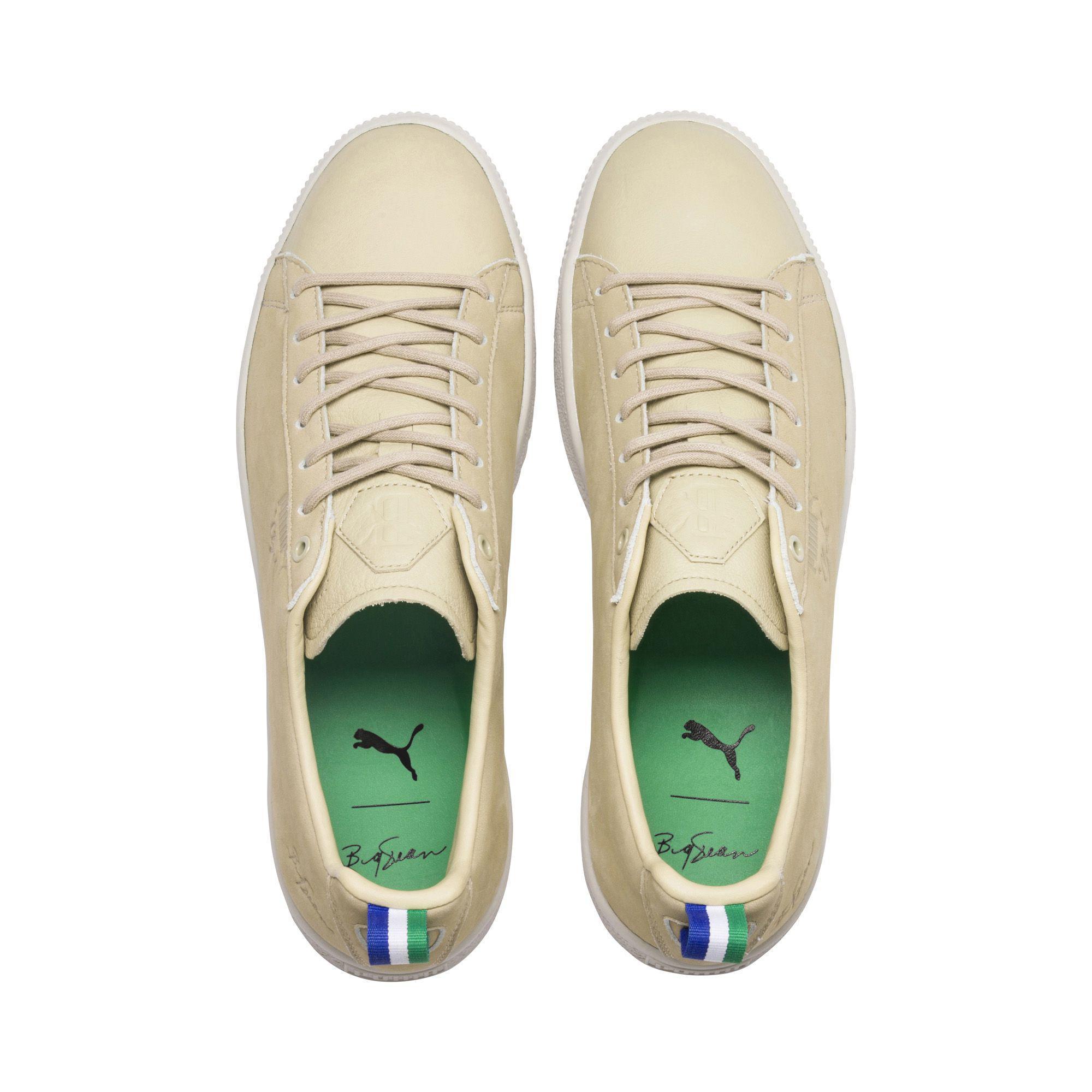 01f573f65fe Lyst - PUMA X Big Sean Clyde Pale Khaki Sneakers for Men