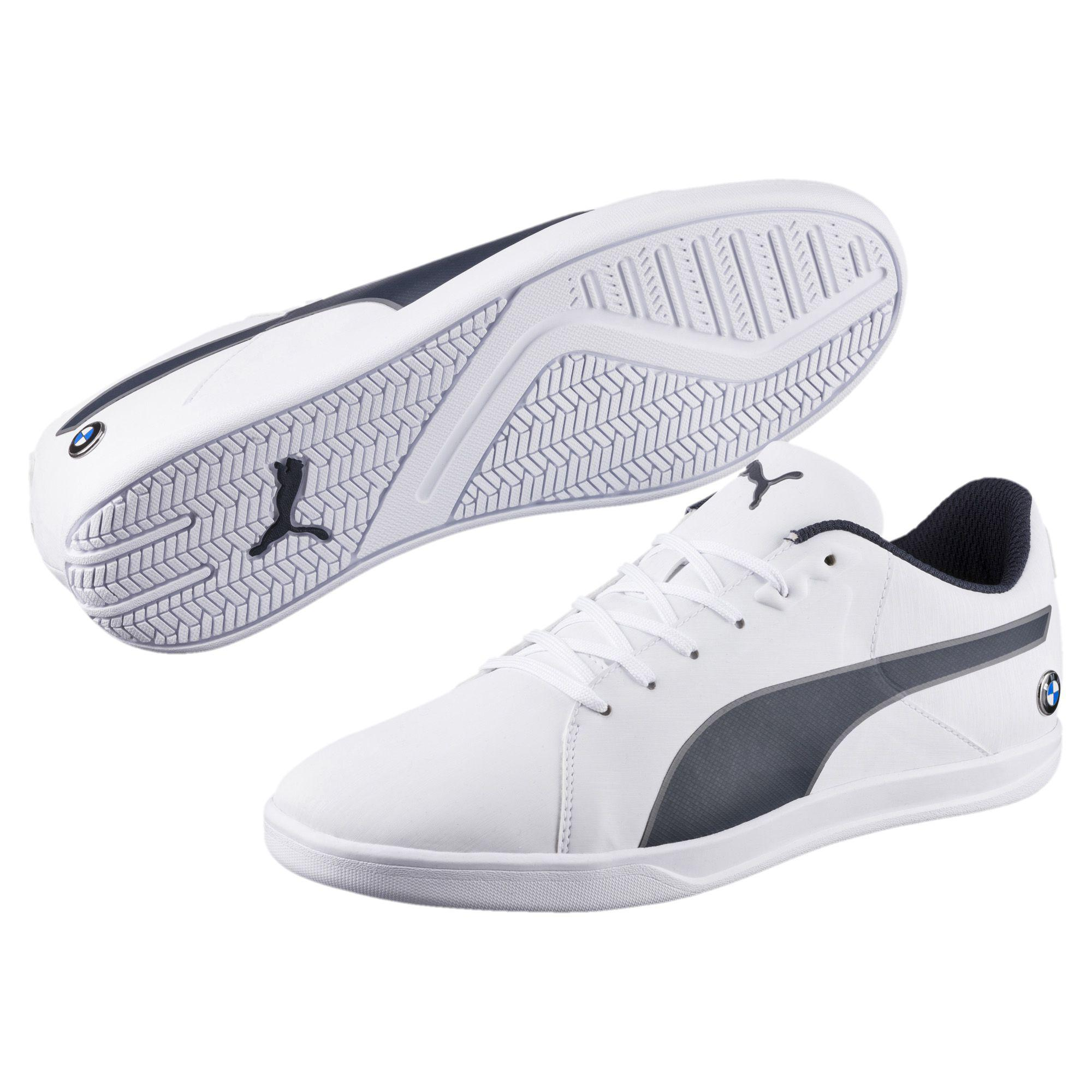 8c89675daf1e81 Lyst - PUMA Bmw Ms Court Men s Shoes in White for Men