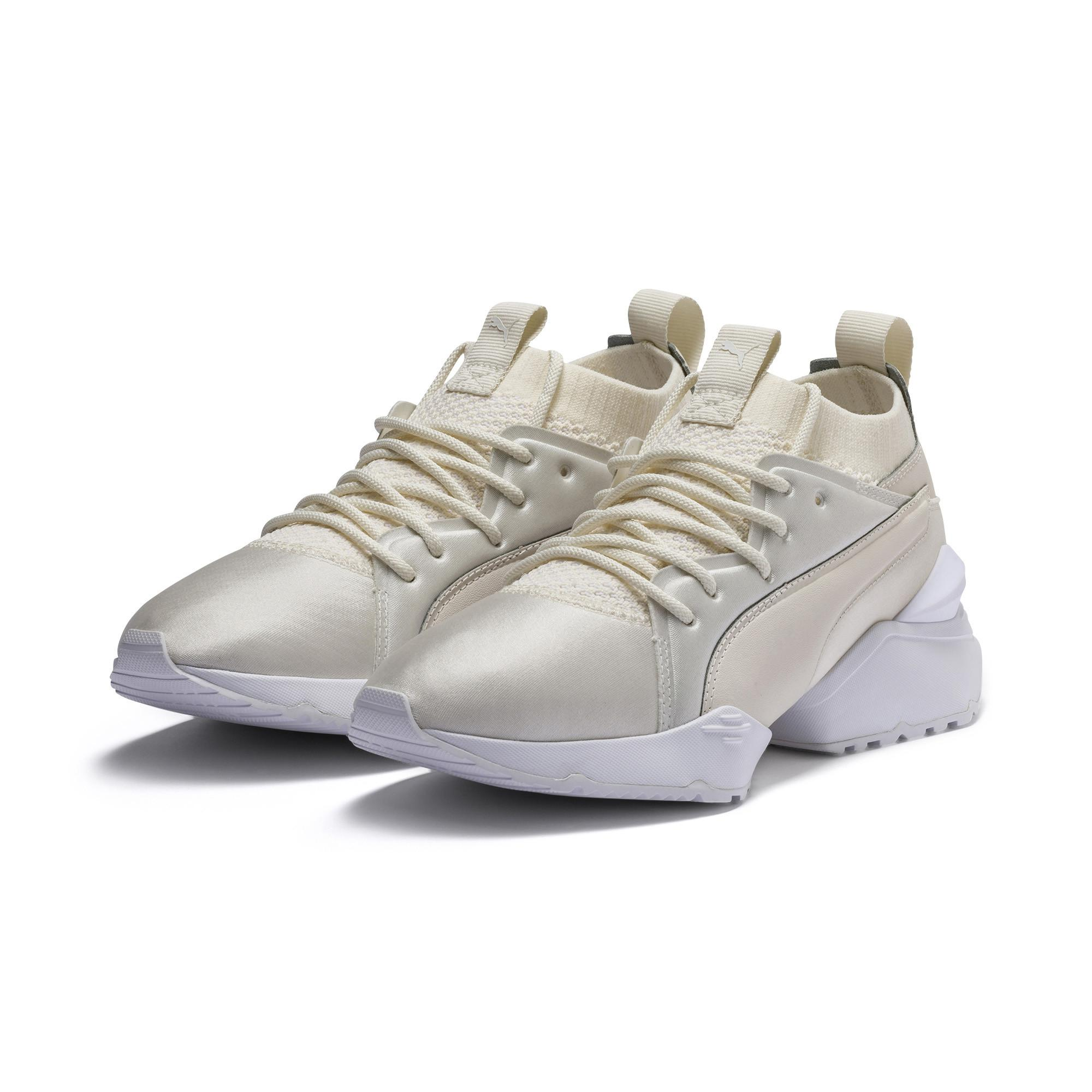 229b08824400 PUMA - White Muse Maia Knit Premium Women s Shoes - Lyst. View fullscreen