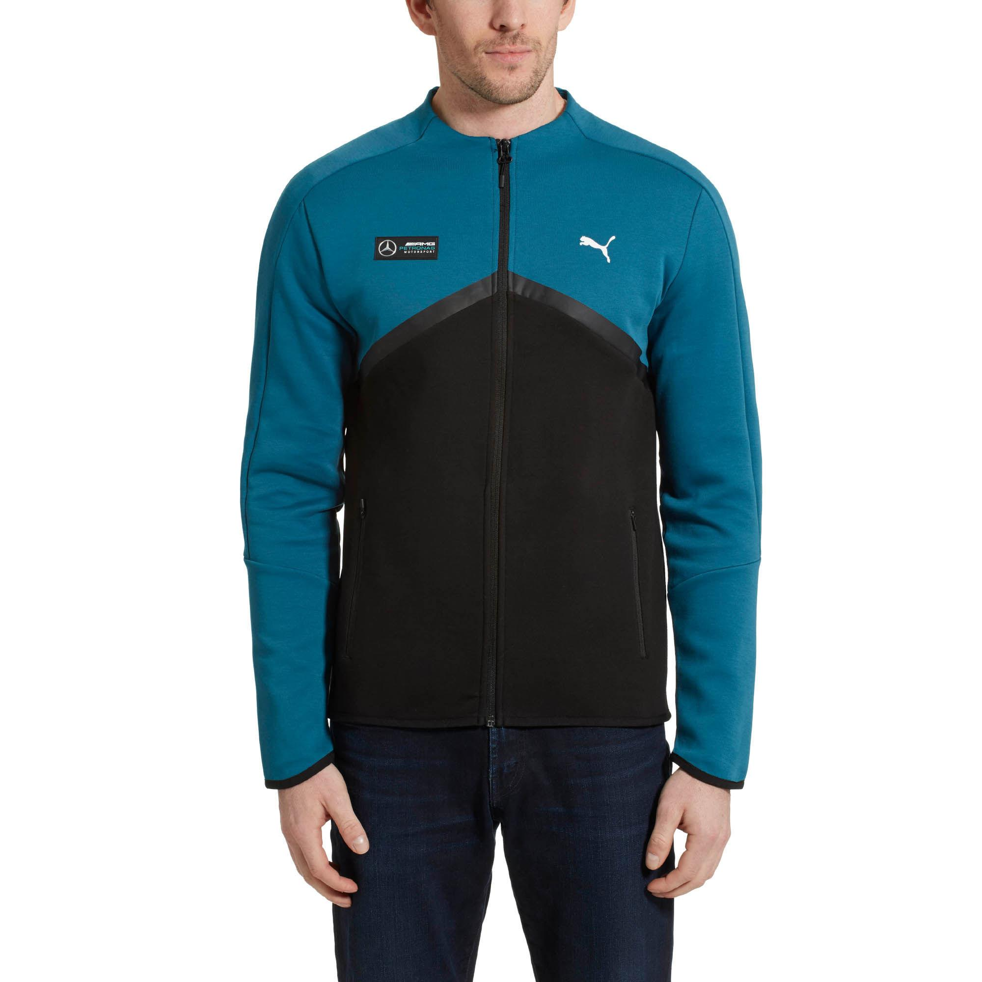 Lyst Puma Mercedes Amg Petronas T7 Men S Sweat Jacket In Blue For Men