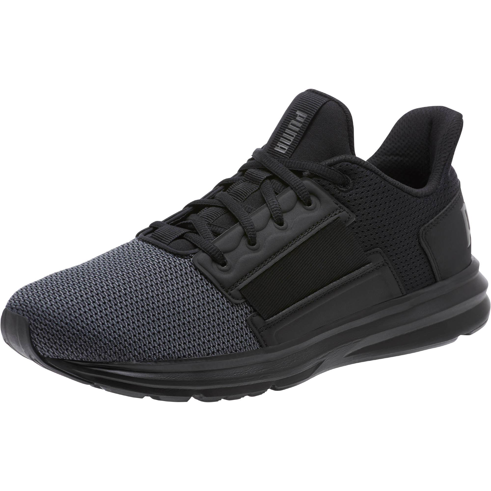 35f9a4bde7e7 Lyst - Puma Enzo Street Running Shoes in Black for Men