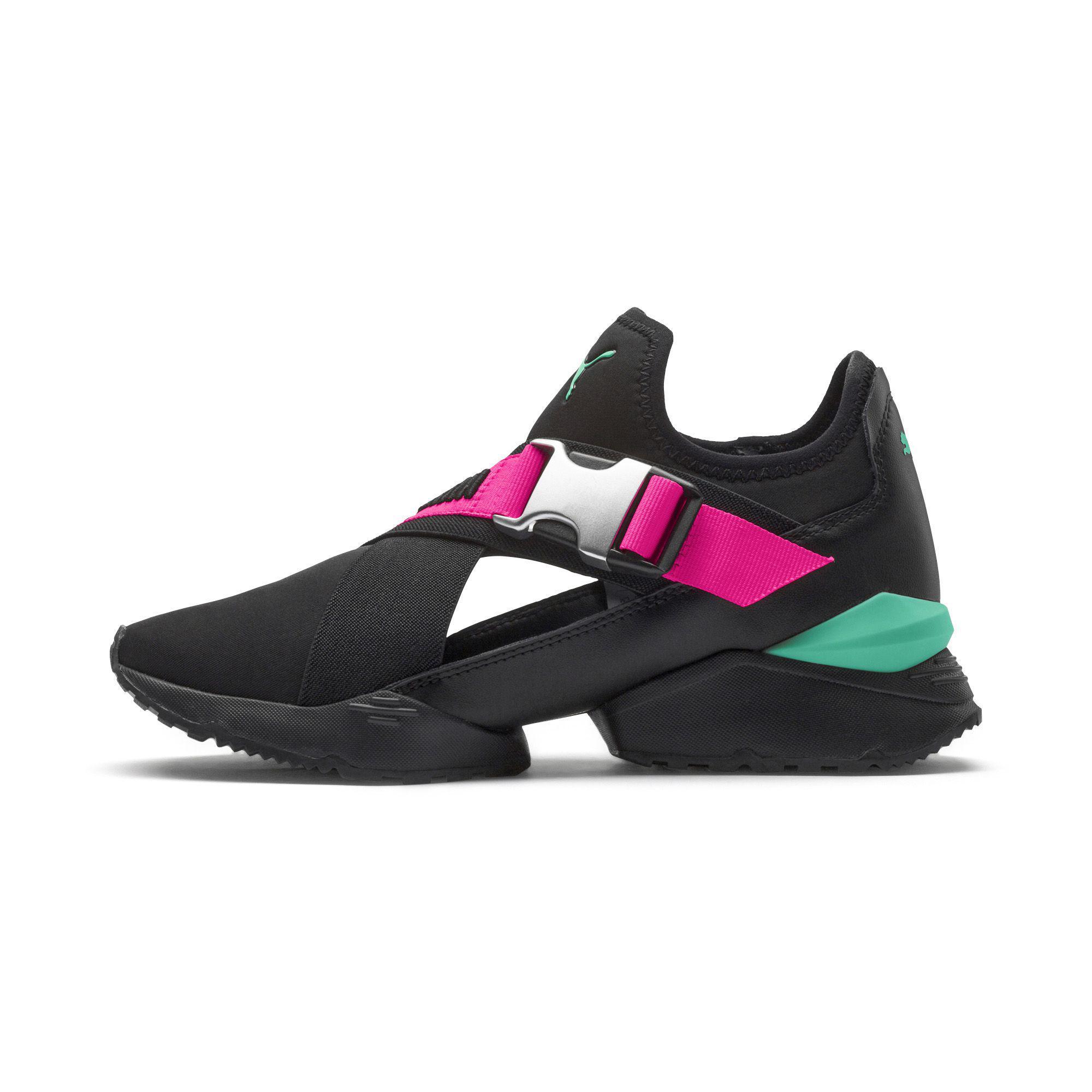 d5472608088 Lyst - PUMA Muse Eos Street 1 Women s Sneakers in Black