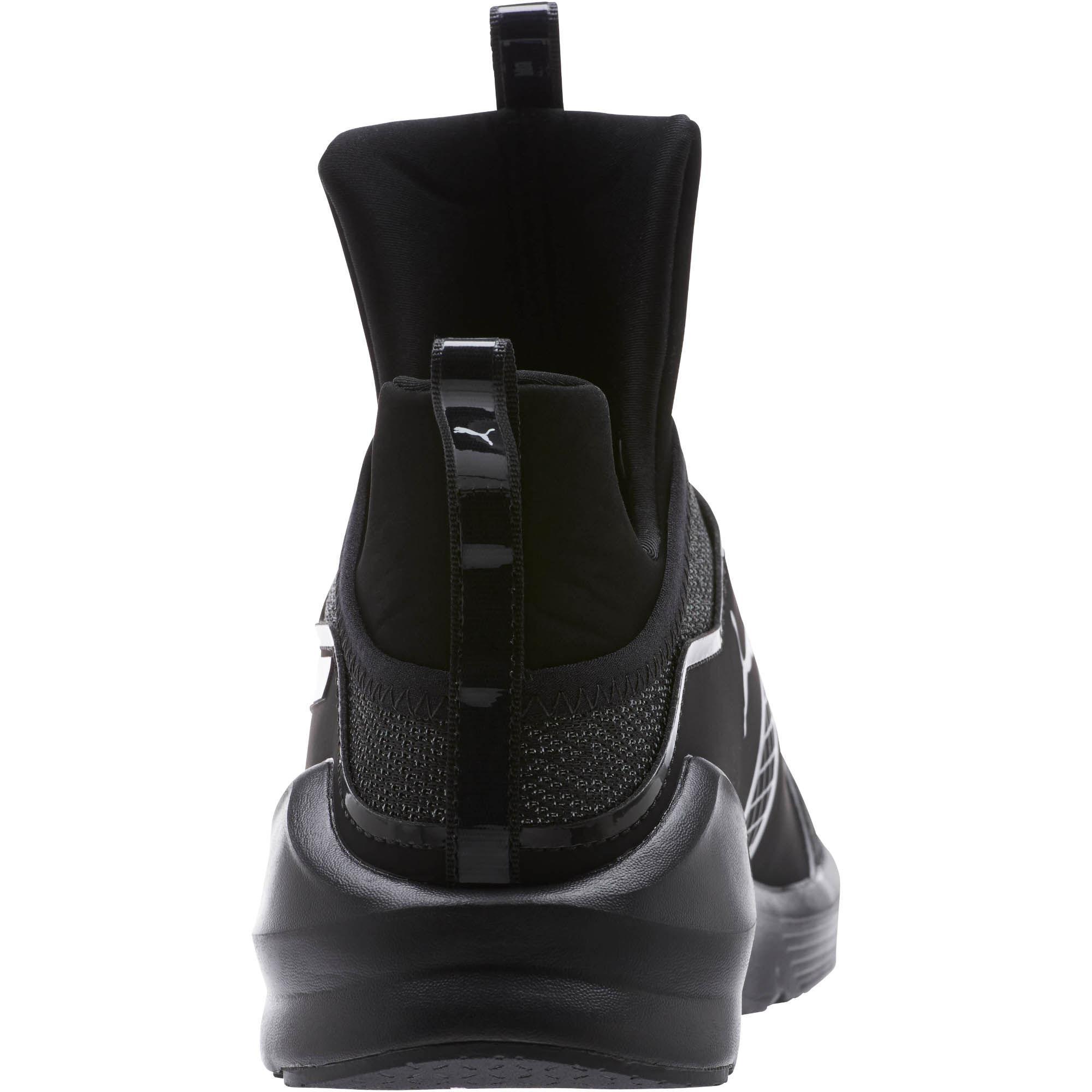 b176a9b8a89f05 Lyst - PUMA Fierce Varsity Knit Women s Sneakers in Black