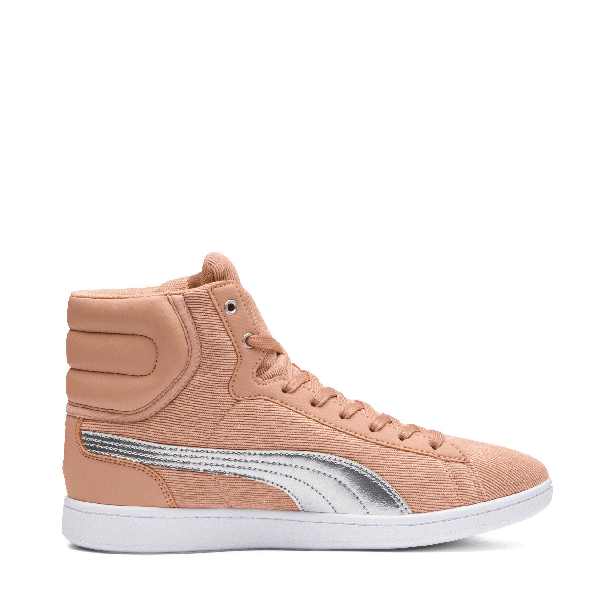 8b0641cc6da2 Lyst - PUMA Vikky Mid Cord Women s Sneakers - Save 17%