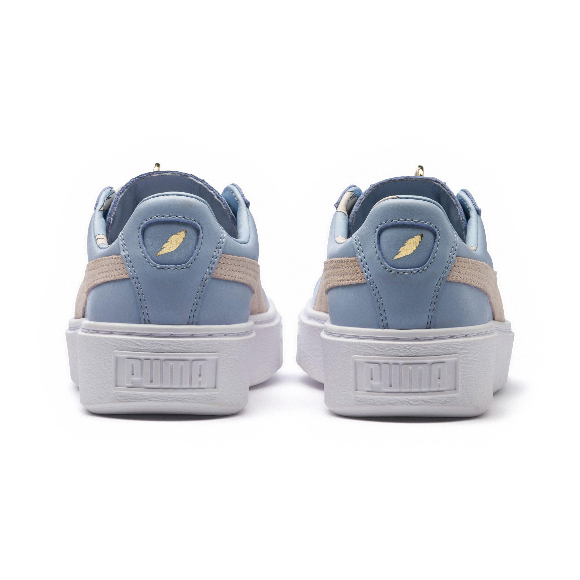 d68685dec8 Lyst - PUMA Basket Platform Festival Women s Sneakers in Blue