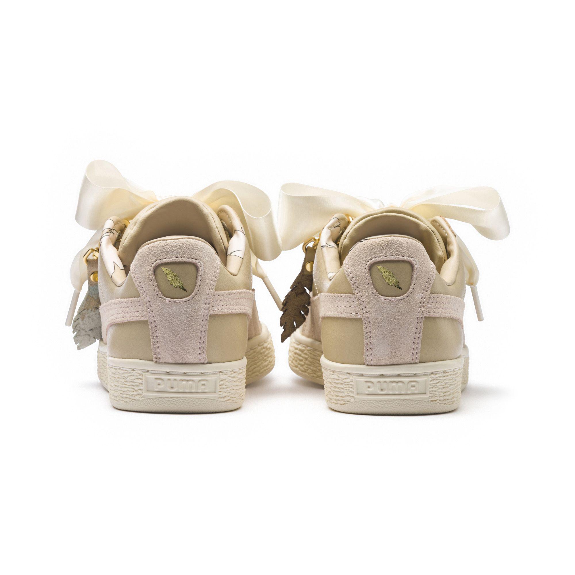 c74a436ca472 Lyst - PUMA Basket Heart Festival Women s Sneakers