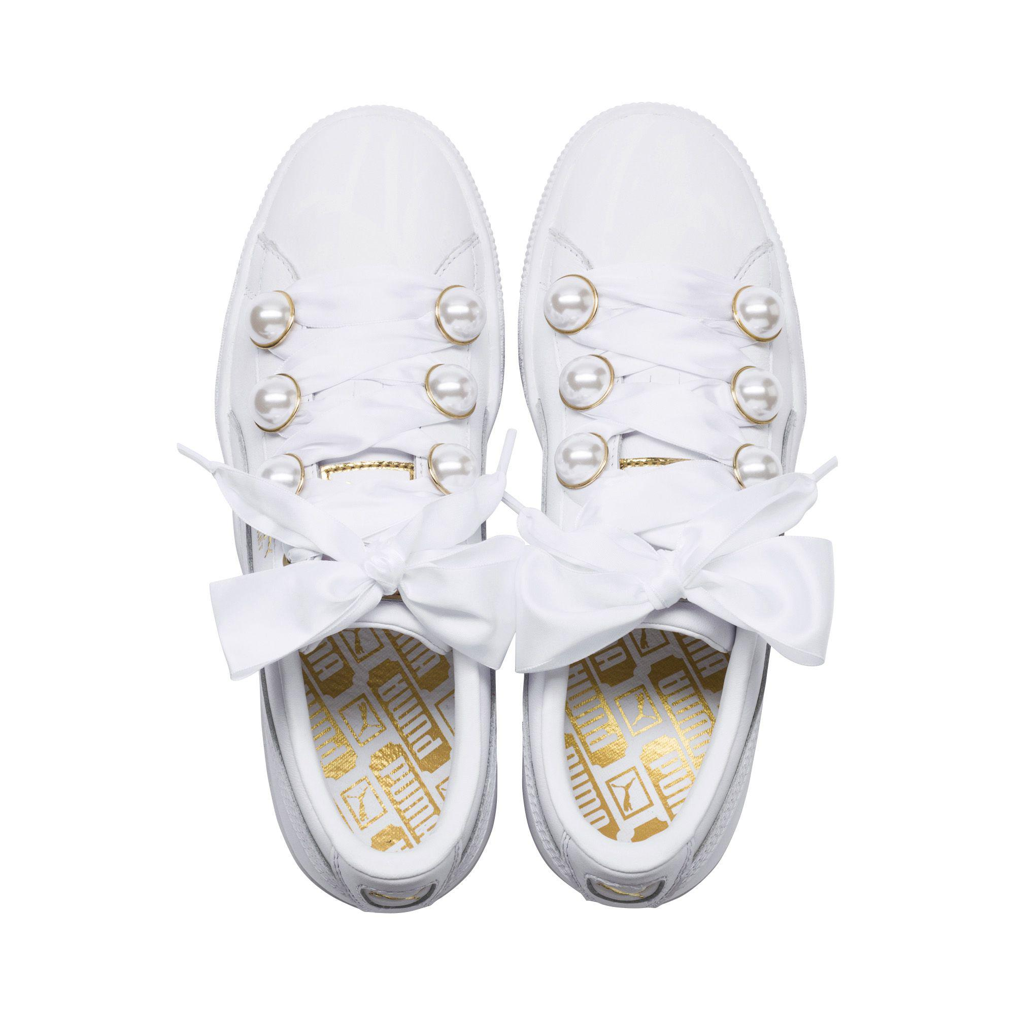 Lyst - PUMA Basket Bling  s Sneakers a90b7a94c