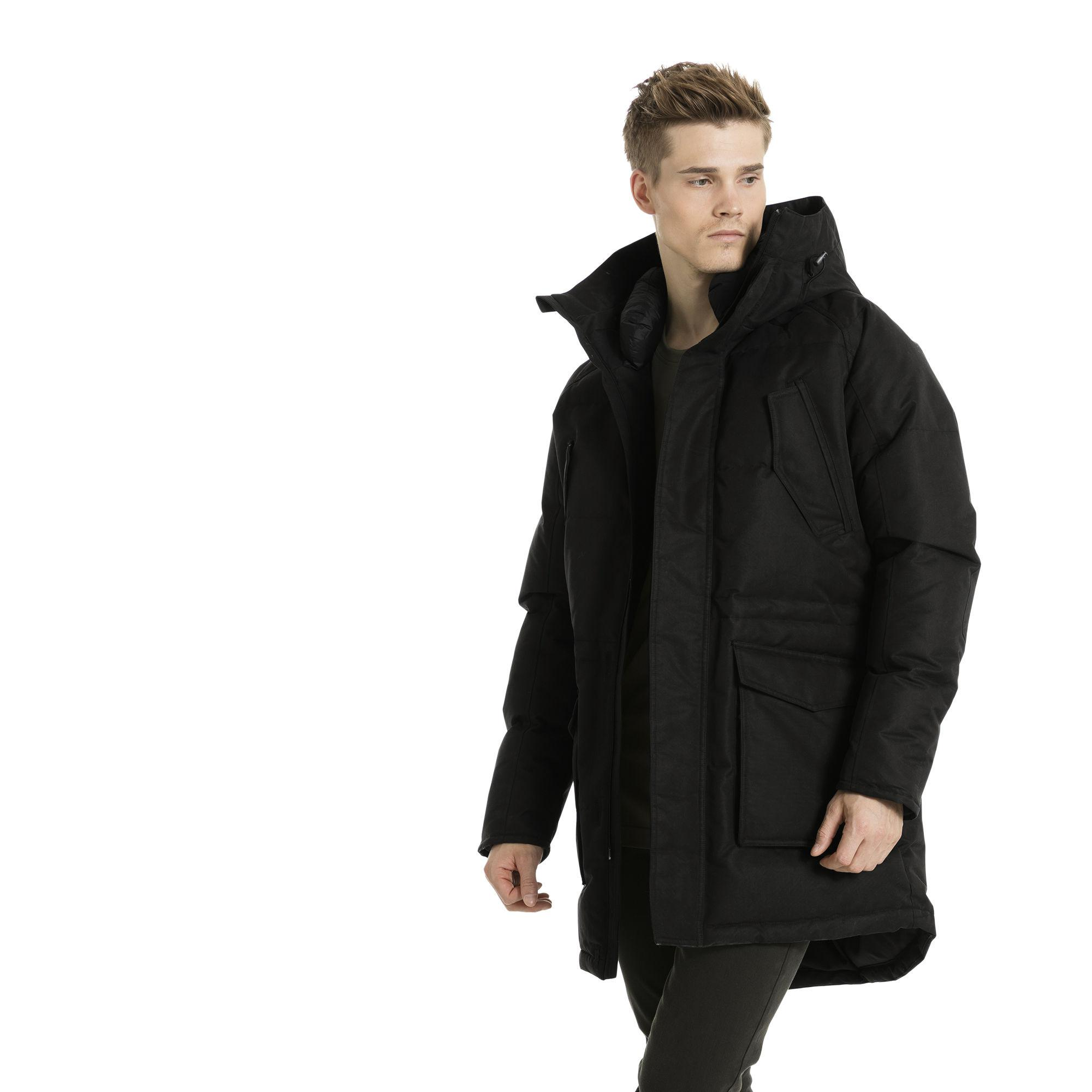 a7be00f0224c Lyst - PUMA Oversize Down Jacket in Black for Men