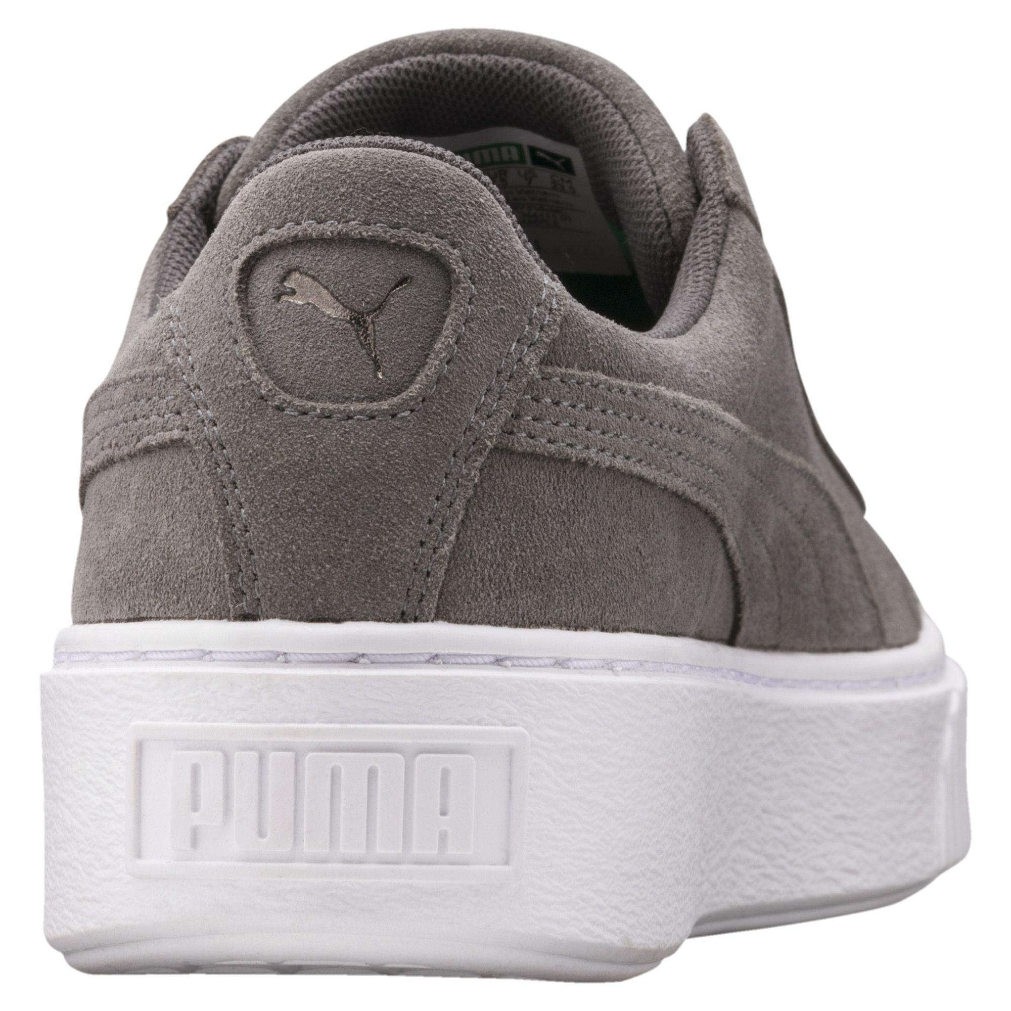 5eb396f13e08 Lyst - PUMA Suede Platform Lunar Lux Women s Sneakers in Gray