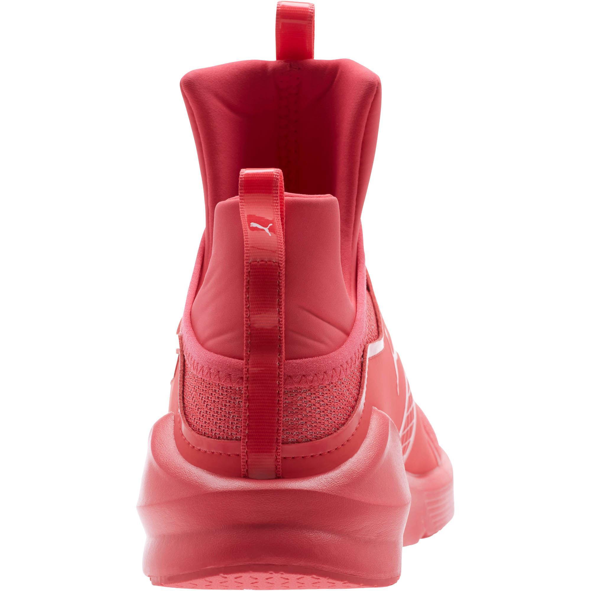120965dd9cd Lyst - PUMA Fierce Varsity Knit Women s Sneakers in Pink