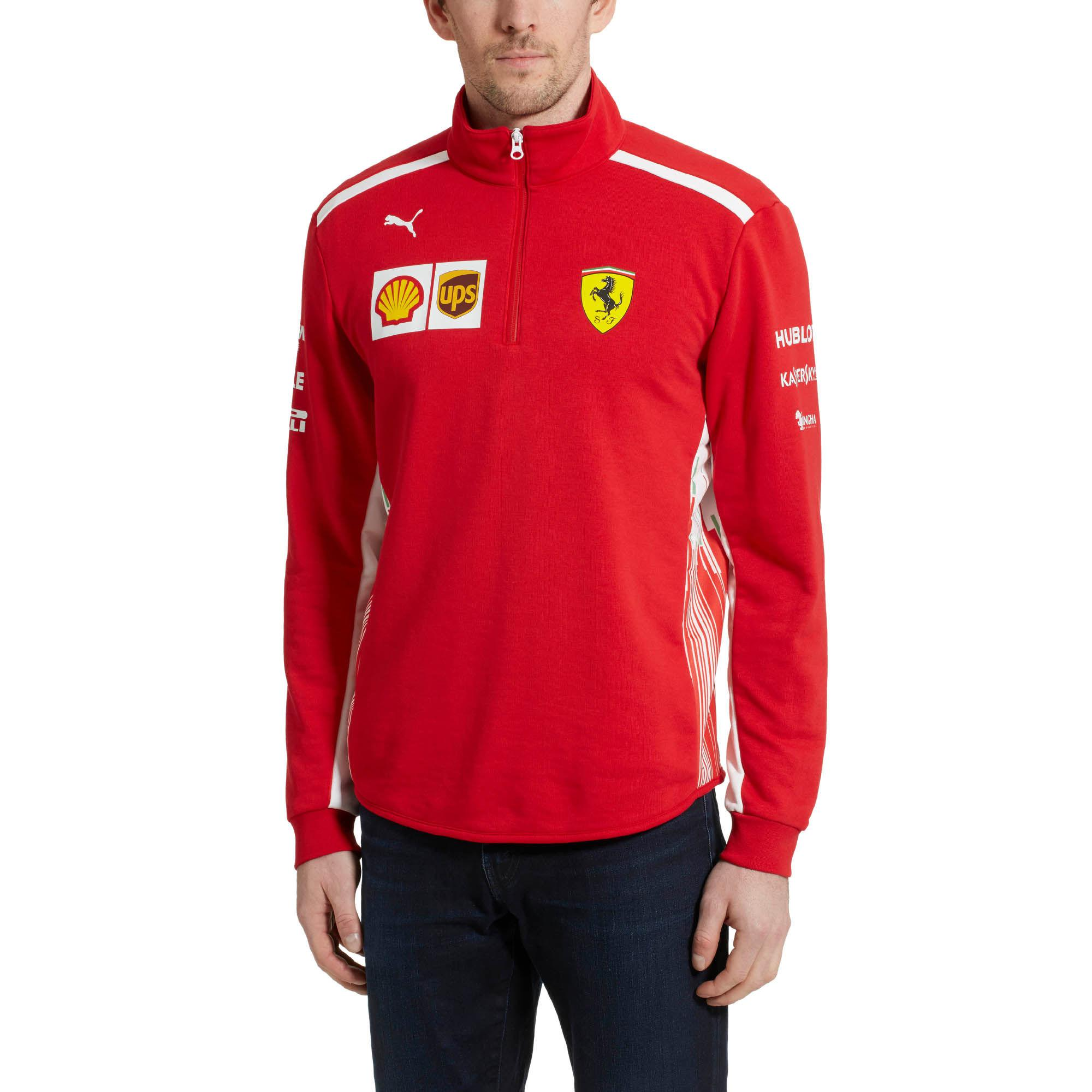 f44efac294bc ... Ferrari Men s Team Half Zip Fleece for Men - Lyst. View fullscreen