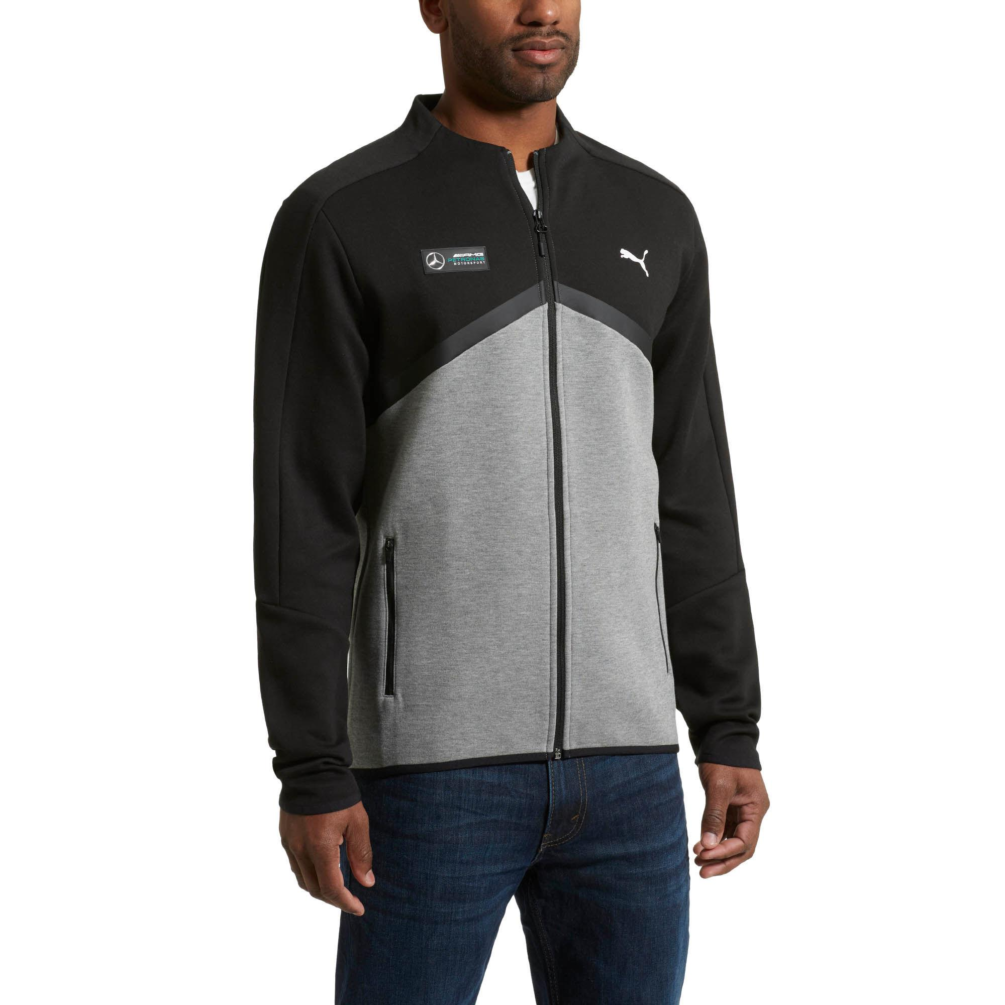 Lyst Puma Mercedes Amg Petronas T7 Men S Sweat Jacket In Black For Men