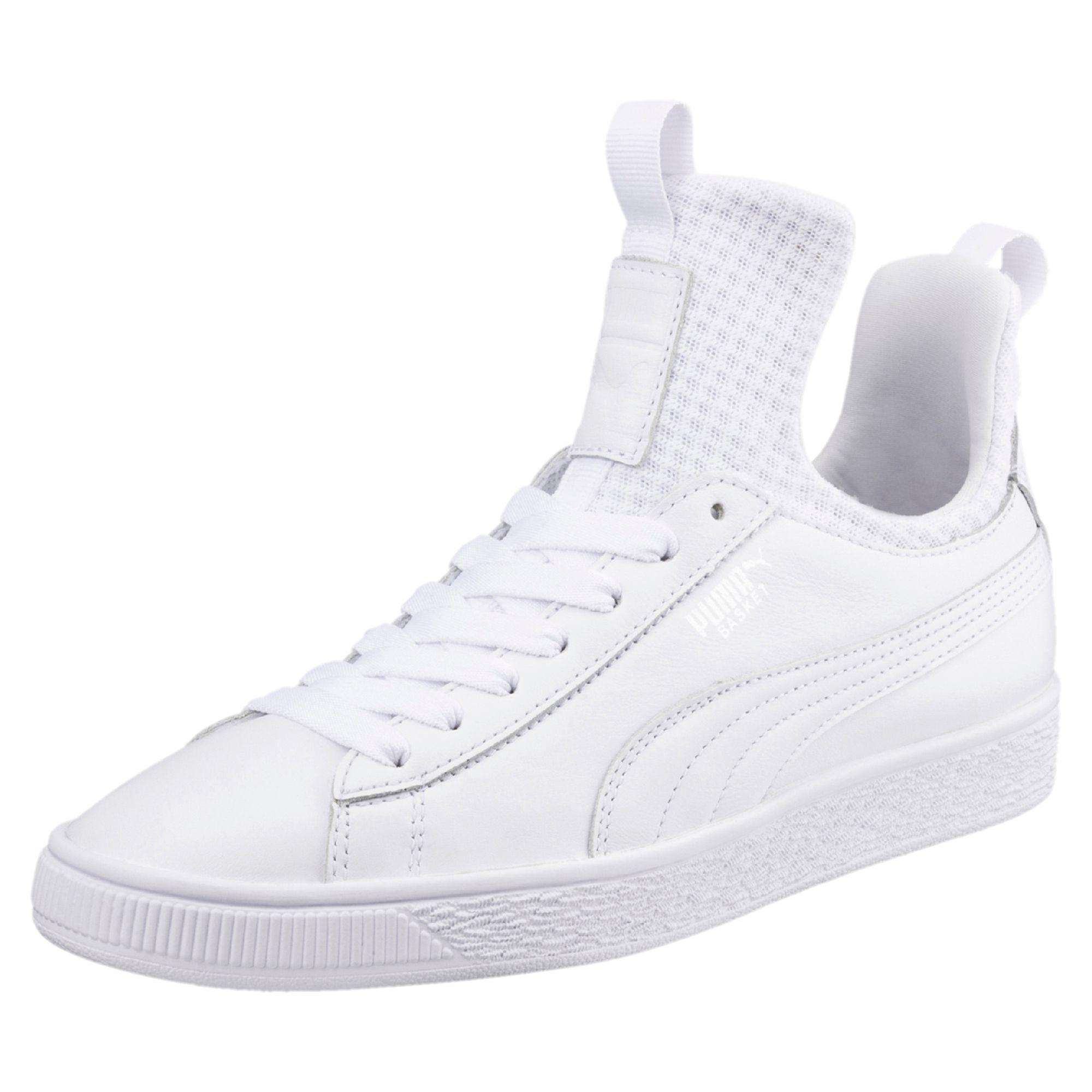 f202ea26f63 Lyst - PUMA Basket Fierce En Pointe Women s Shoes in White