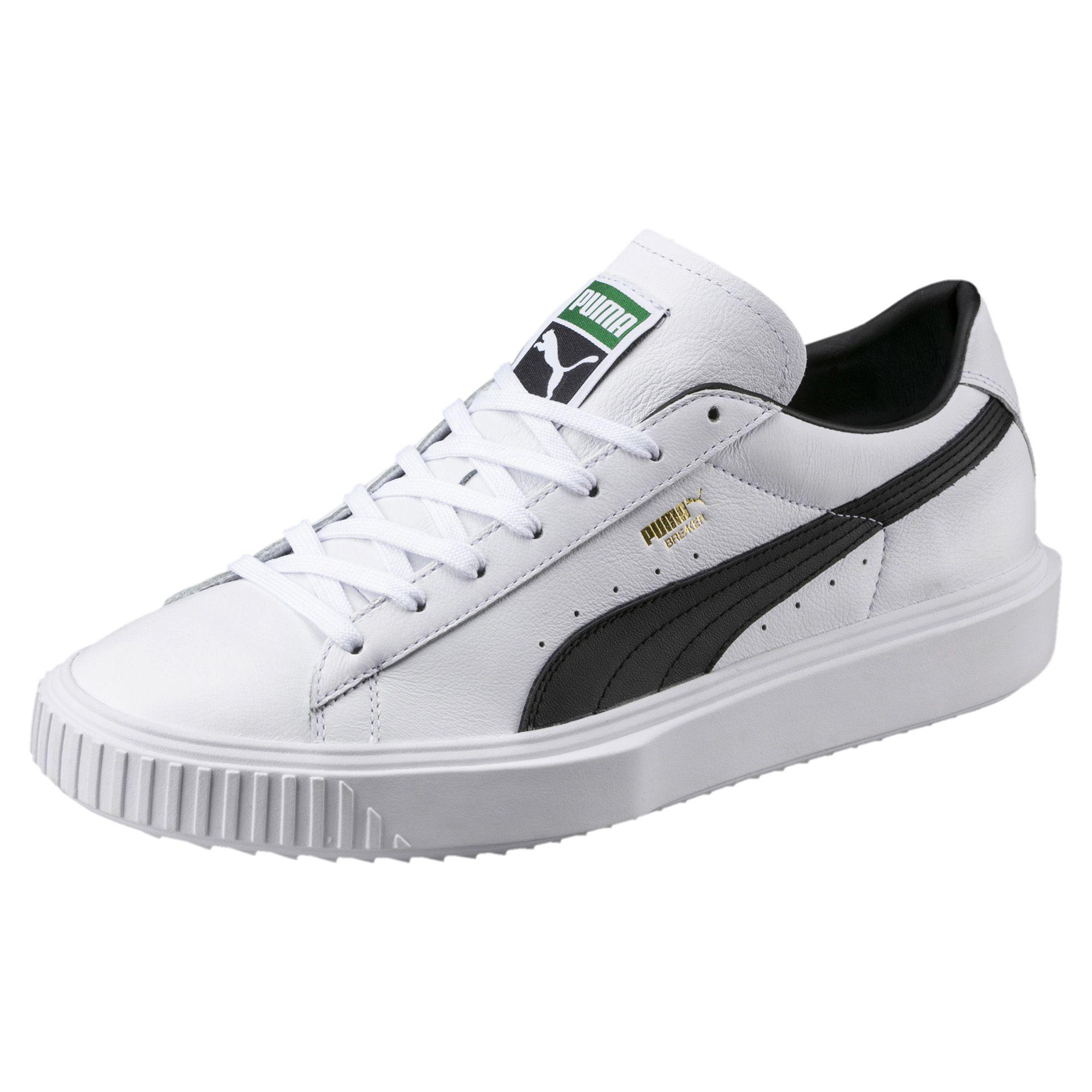 White Breaker LTHR sneakers Puma gTTZvAOF