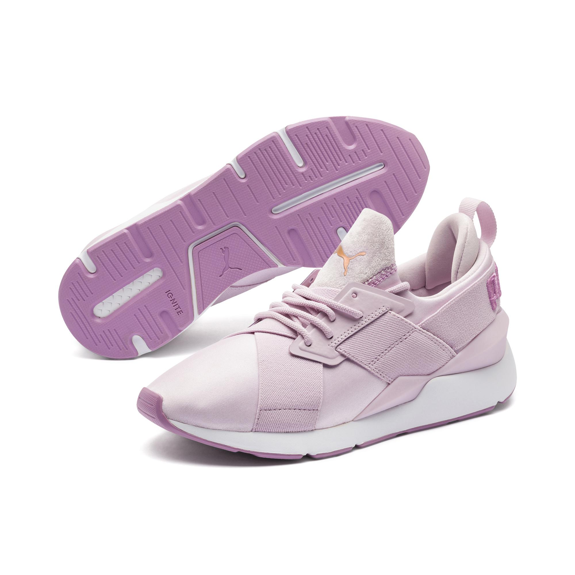 af596ee2d05 Lyst - PUMA Muse Satin Ii Women s Sneakers in Purple - Save 51%