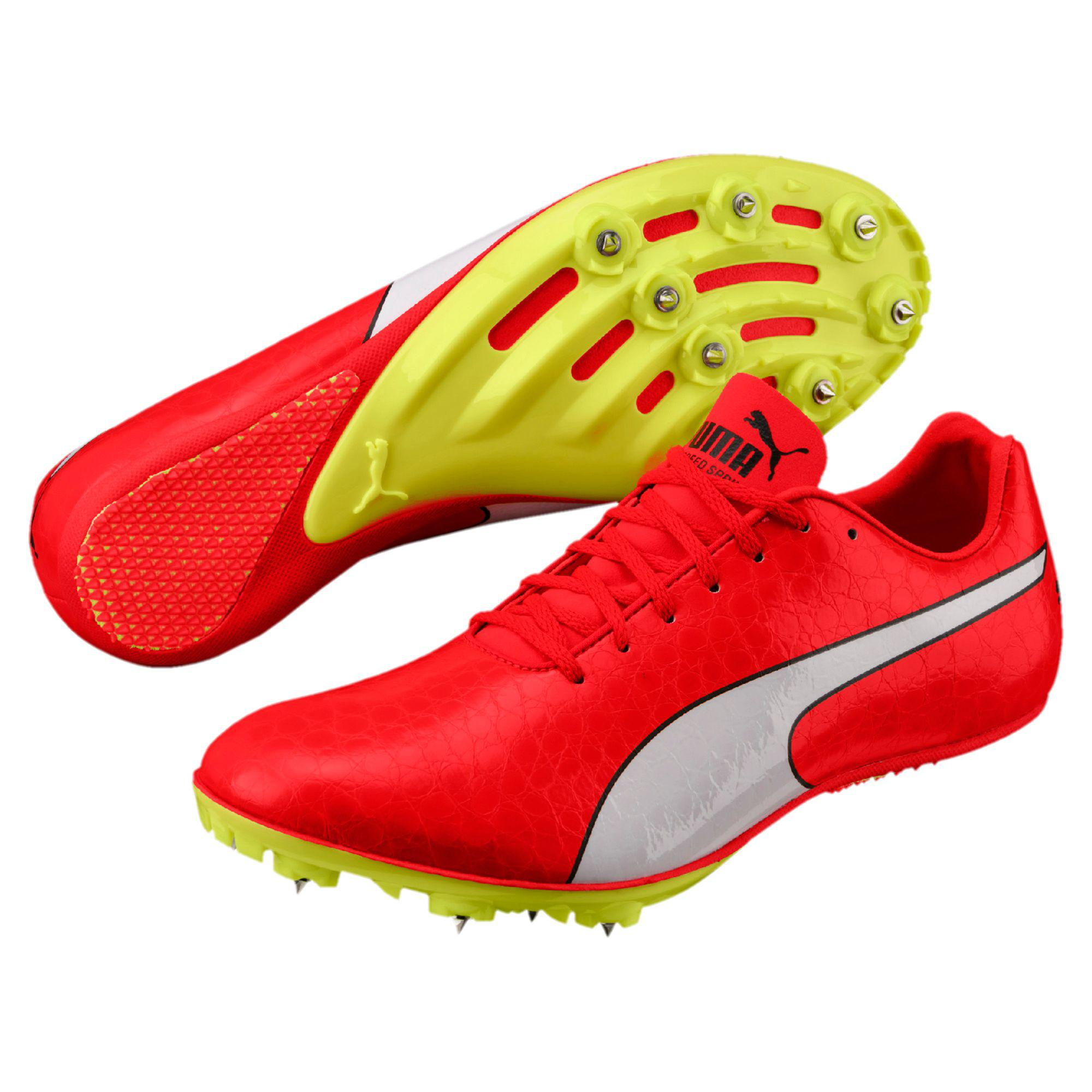 a1adaf78628be4 Lyst - PUMA Evospeed Sprint 8 Men s Track Spikes in Red for Men