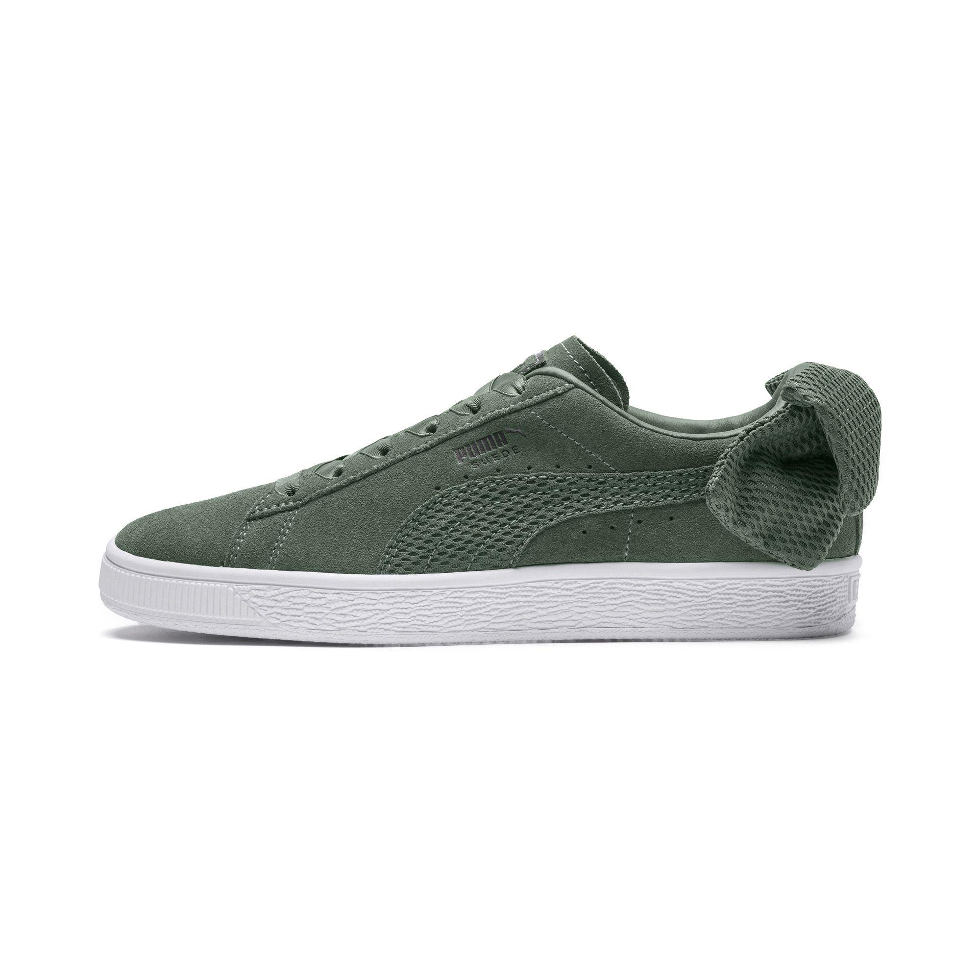 Lyst - PUMA Suede Bow Uprising Women s Sneakers 68772a66c