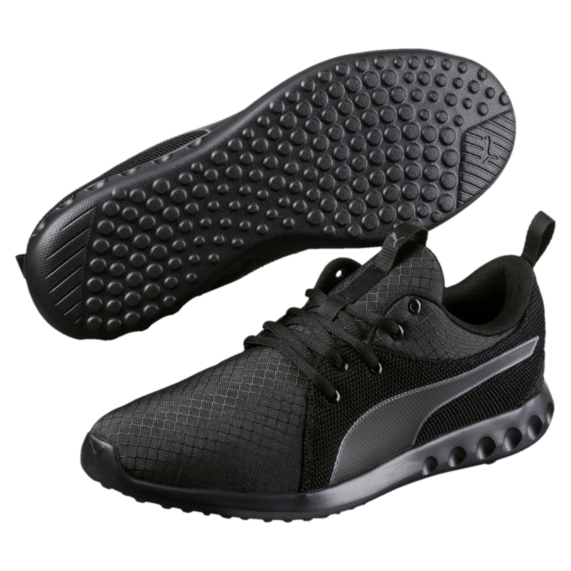 Running puma shoes black photo new photo