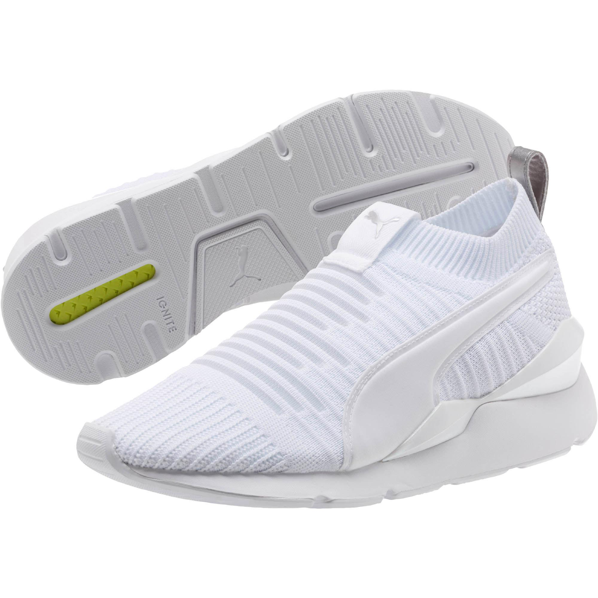110ab2c1 PUMA Muse Slip On July Women's Sneakers in White - Lyst