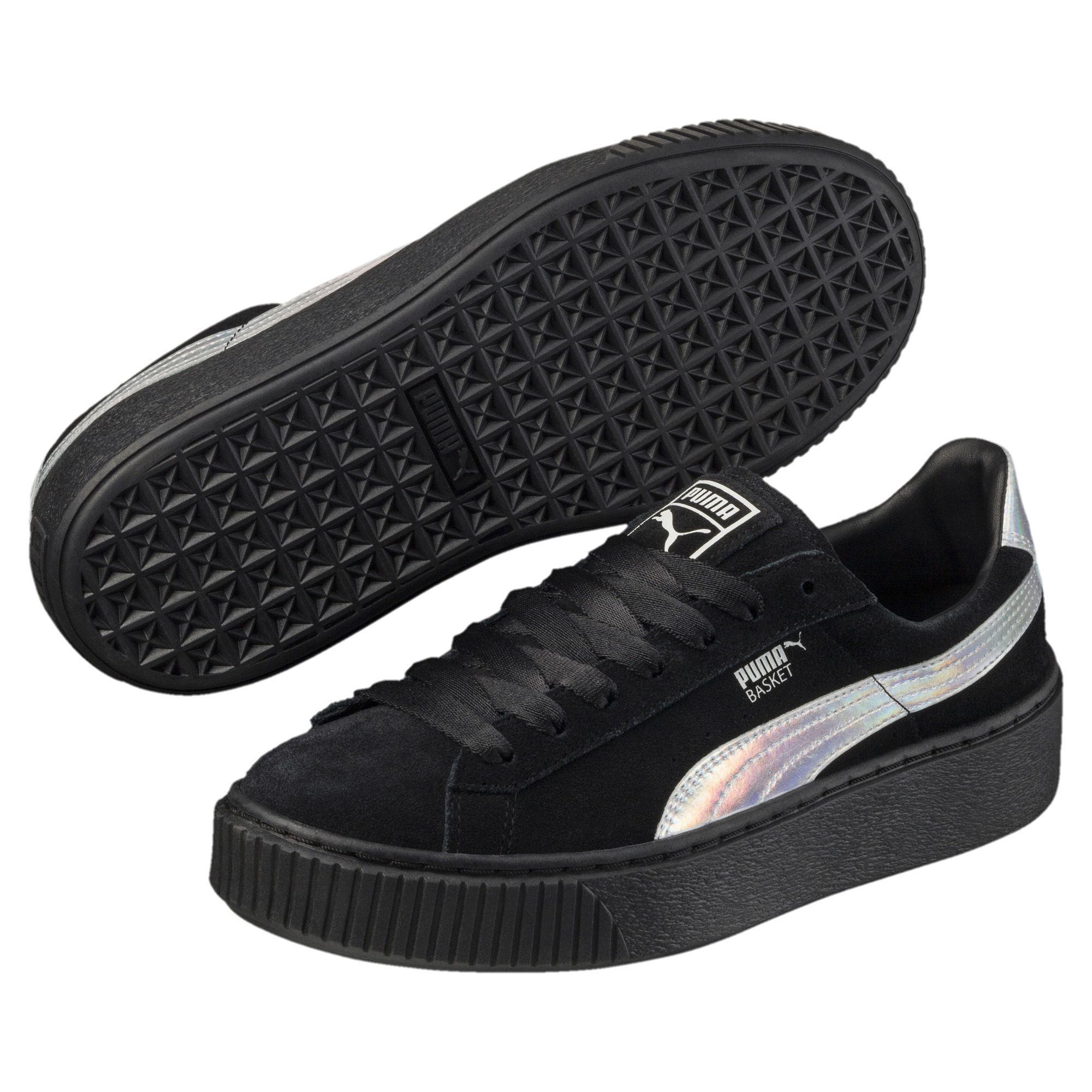 a7d569187fb7 Lyst - PUMA Suede Platform Explosive Women s Sneakers in Black