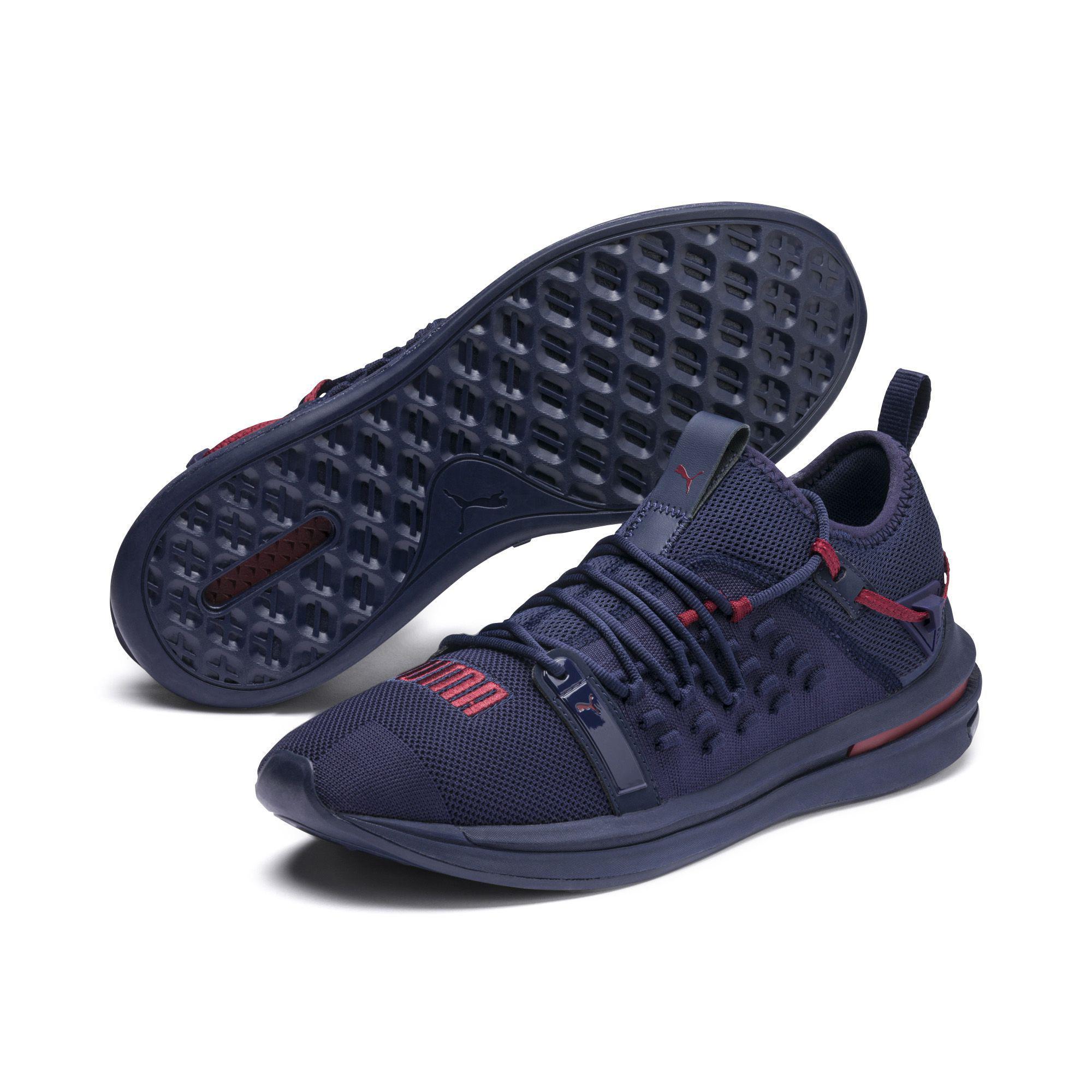 PUMA - Blue Ignite Limitless Sr Fusefit Running Shoes for Men - Lyst. View  fullscreen 36c121dae