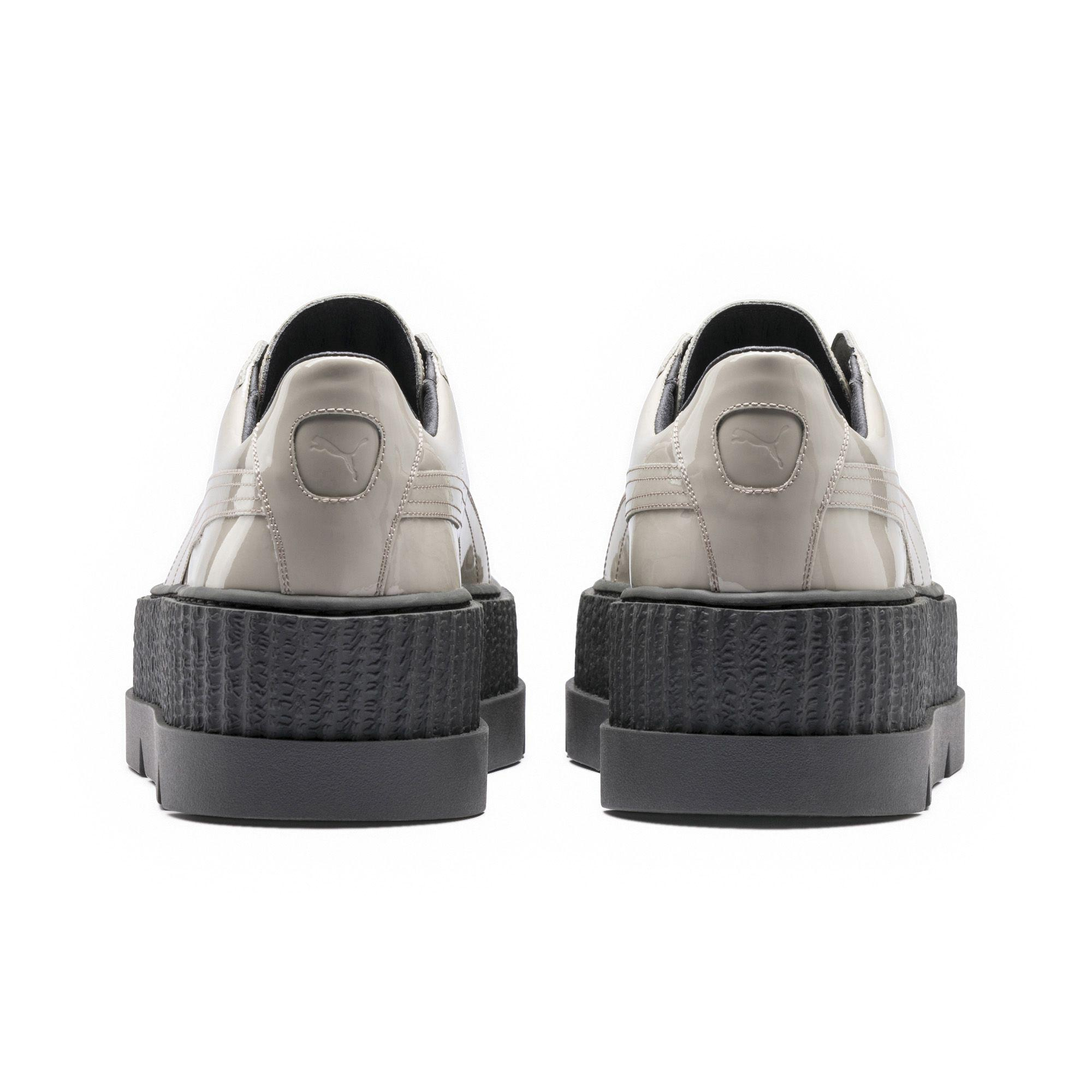 fbb56fc18d5cd2 Lyst - PUMA Fenty Men s Pointy Creeper Patent in Gray for Men