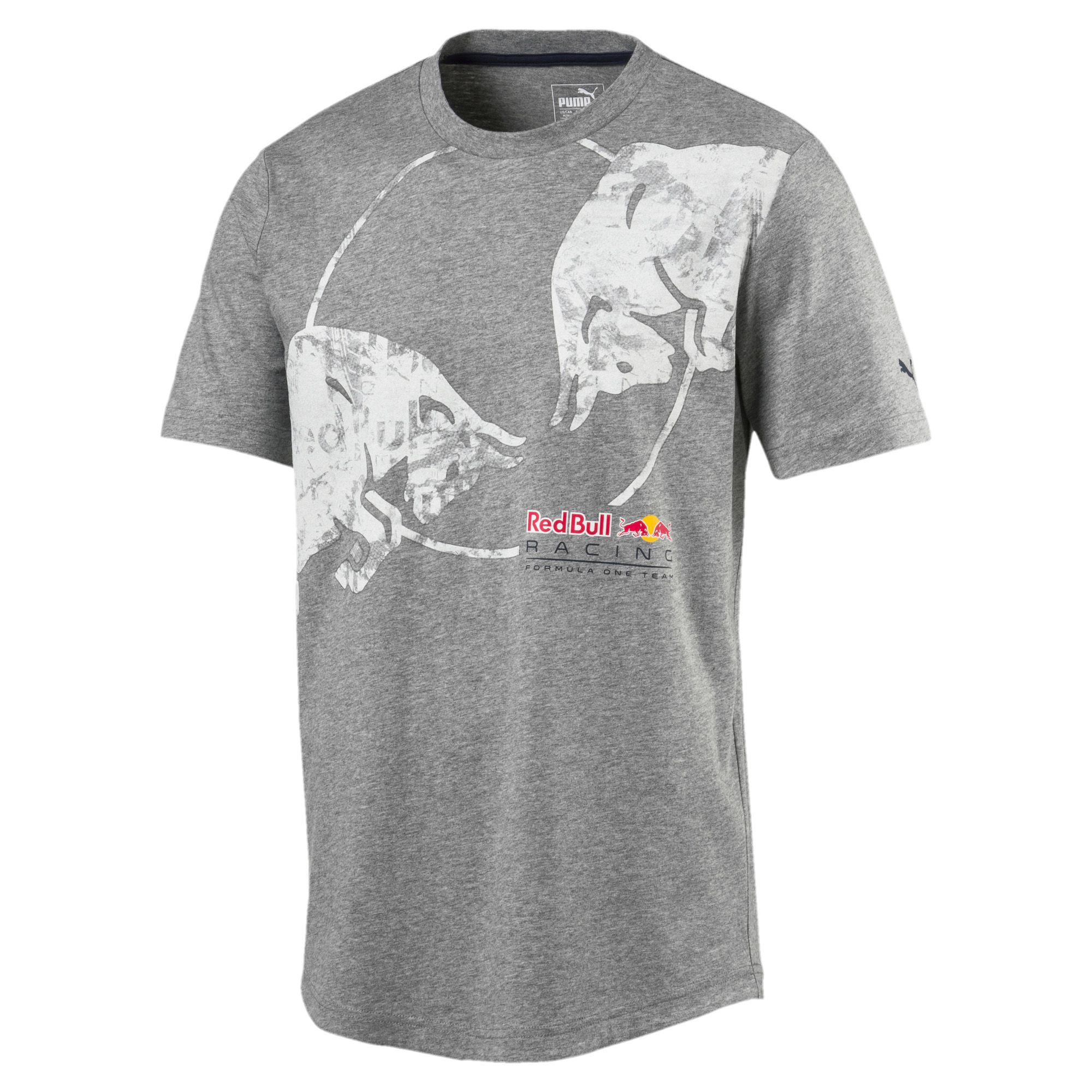 5da4933b Lyst - PUMA Red Bull Racing Lifestyle Graphic T-shirt in Gray for Men