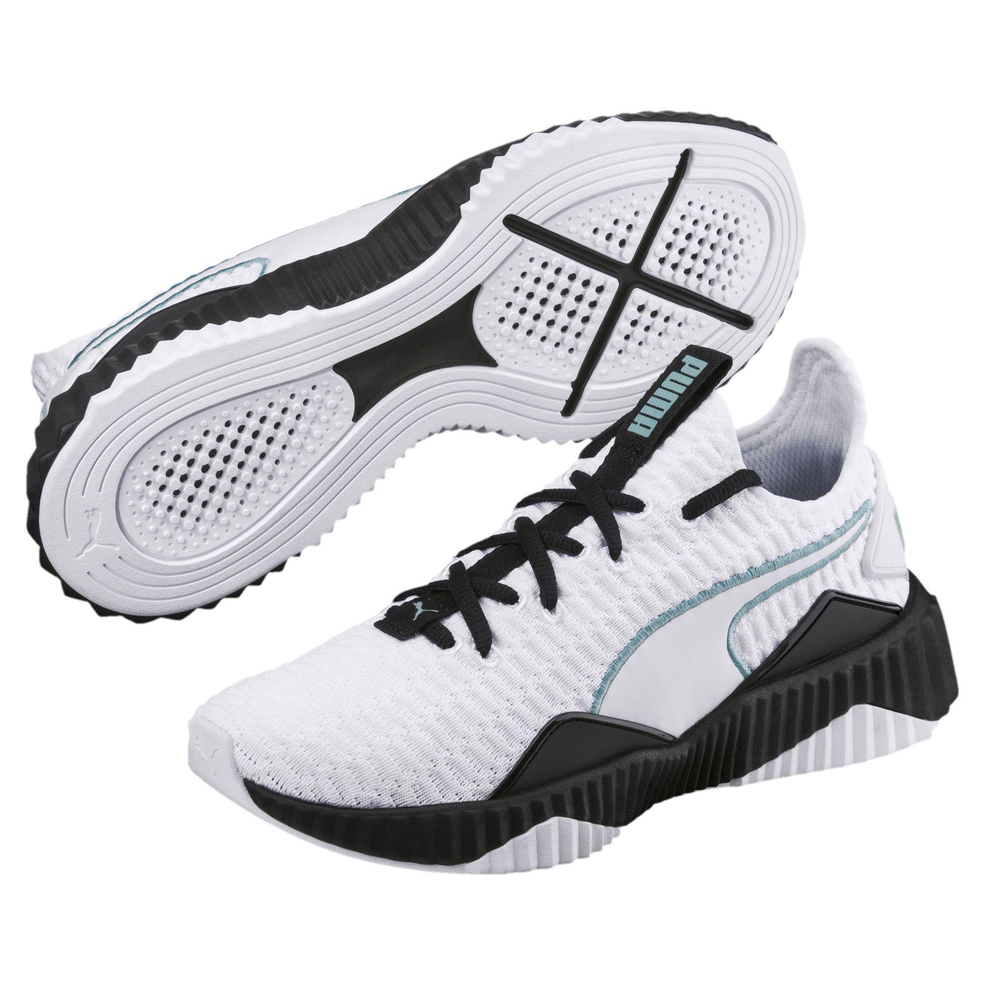 aa1bf0ee375e41 PUMA - White Defy Women s Sneakers - Lyst. View fullscreen