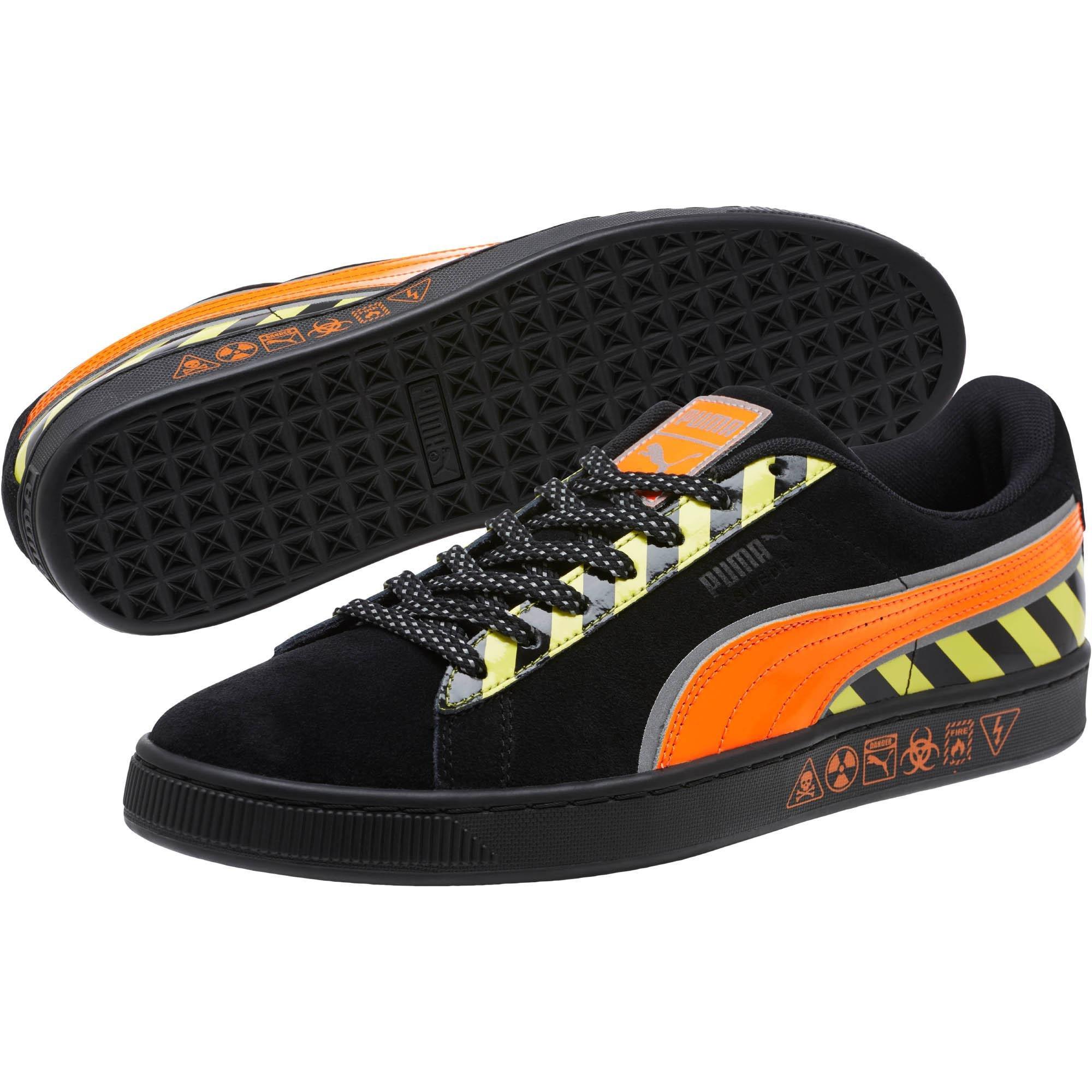 Lyst - PUMA Suede Hazard Sneakers in Black for Men 5778617eedd