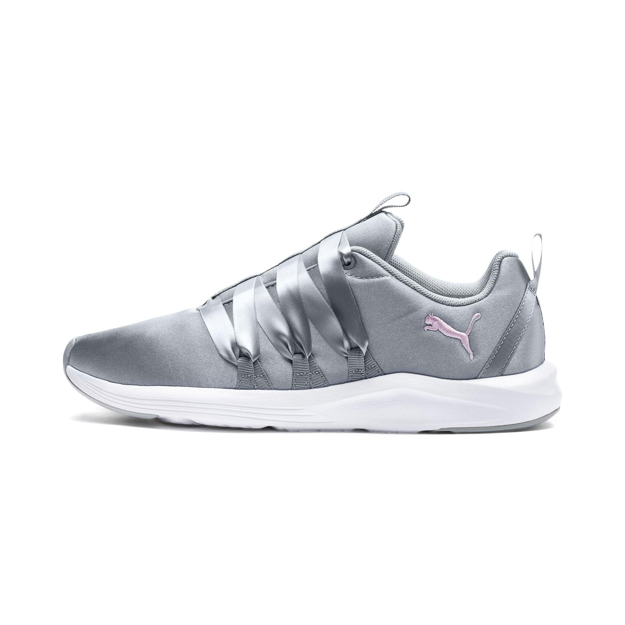 5c0a6a8898d3 Lyst - PUMA Prowl Alt Satin Women s Training Shoes in White - Save 41%