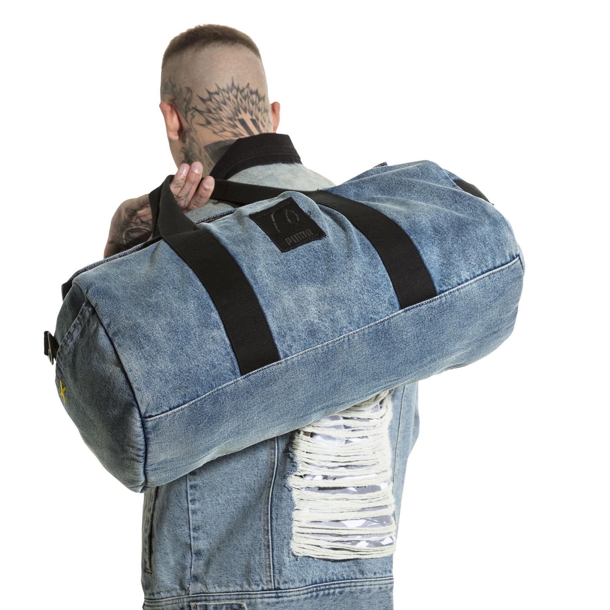 2aa4c0b20e Lyst - PUMA X Xo Denim Duffle in Blue for Men
