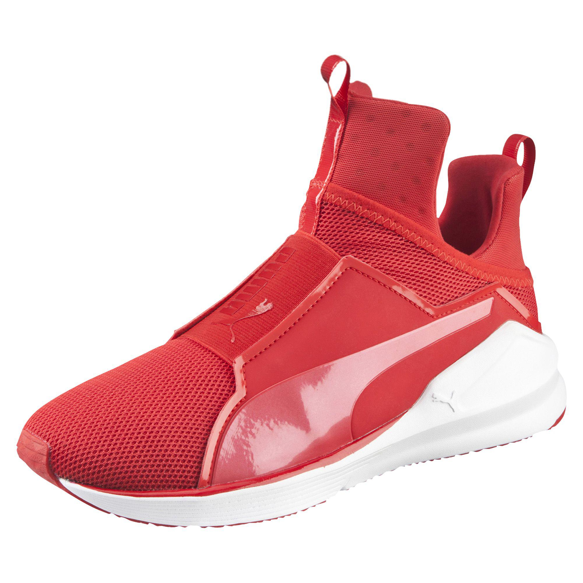 Lyst - PUMA Fierce Core Women s Training Shoes in Red 20b466580