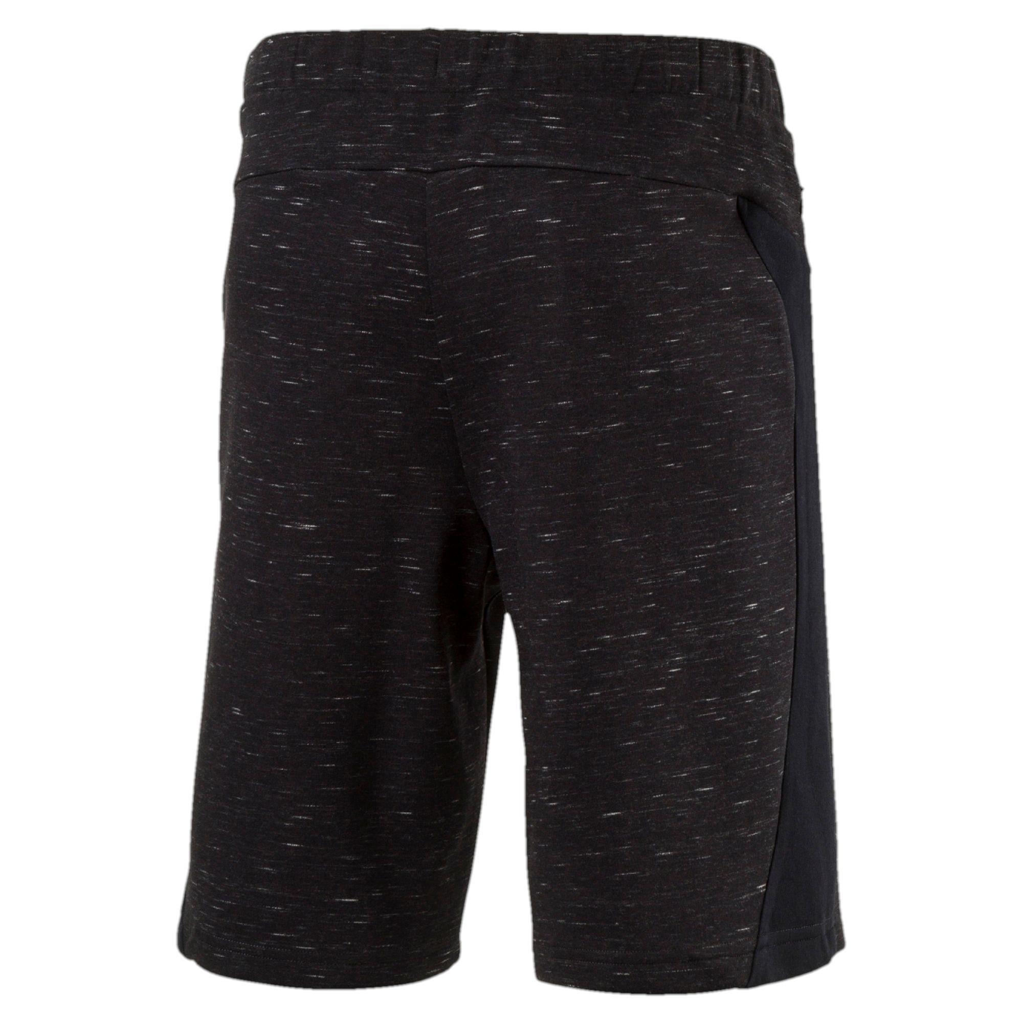 4d82f5a7b9dd Lyst - PUMA Evostripe Spaceknit Shorts in Black for Men
