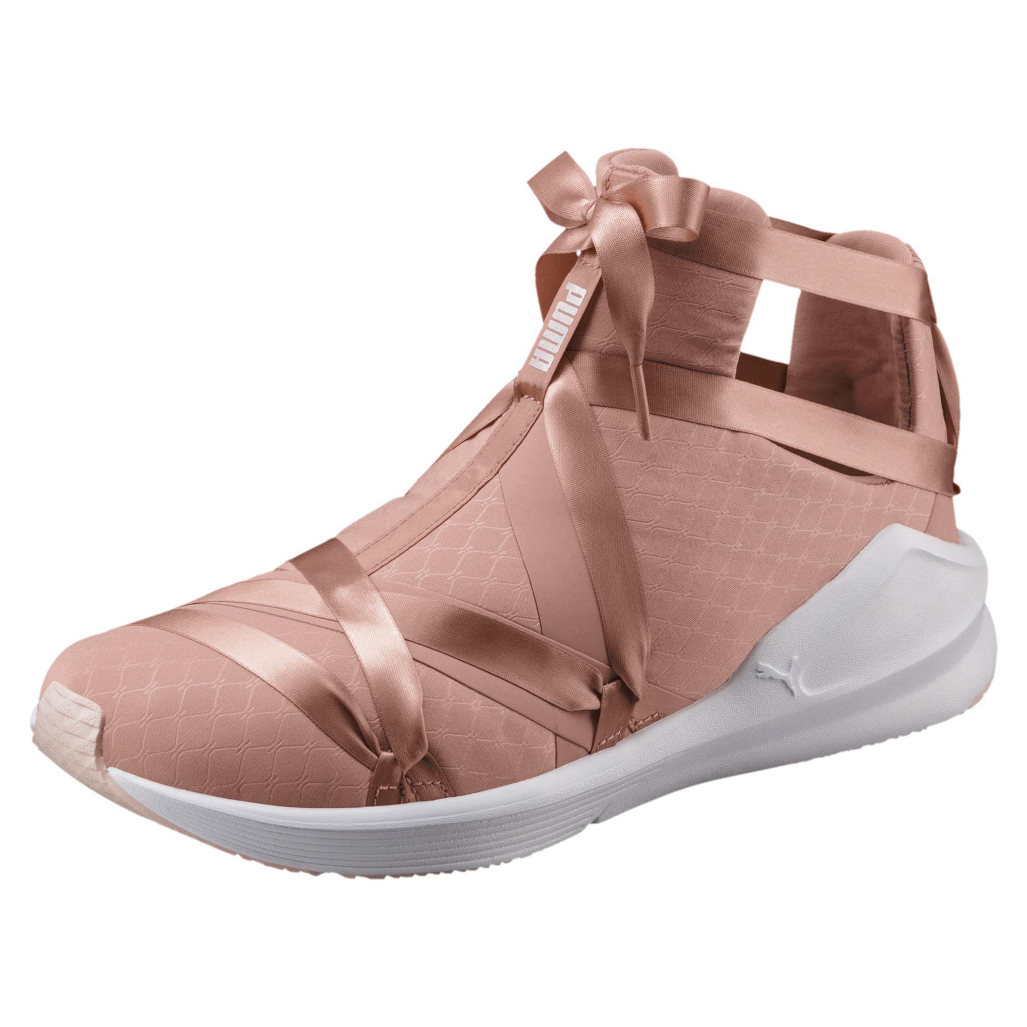 58fd43f921e983 Lyst - PUMA Fierce Rope Satin En Pointe Women s Sneakers