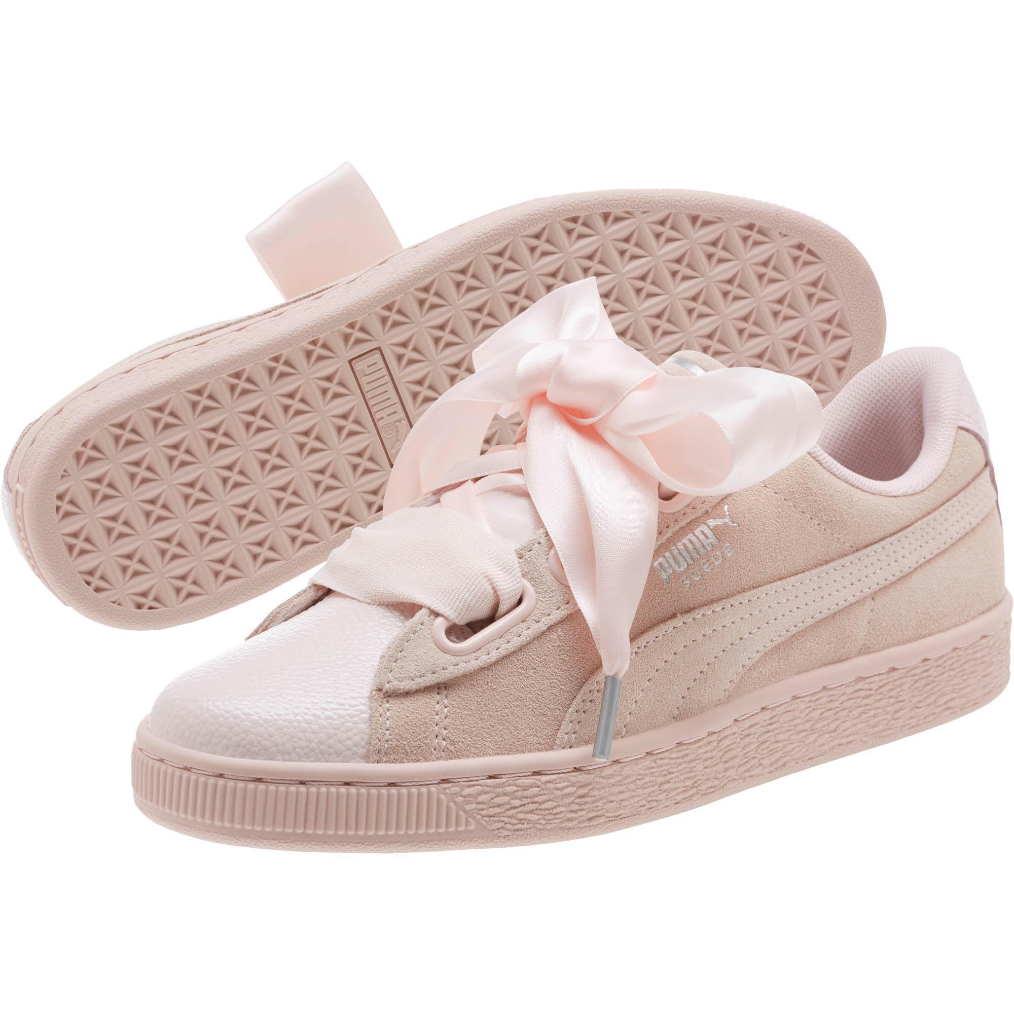 Lyst - PUMA Suede Heart Bubble Women s Sneakers in Pink 7c0dfb00f9