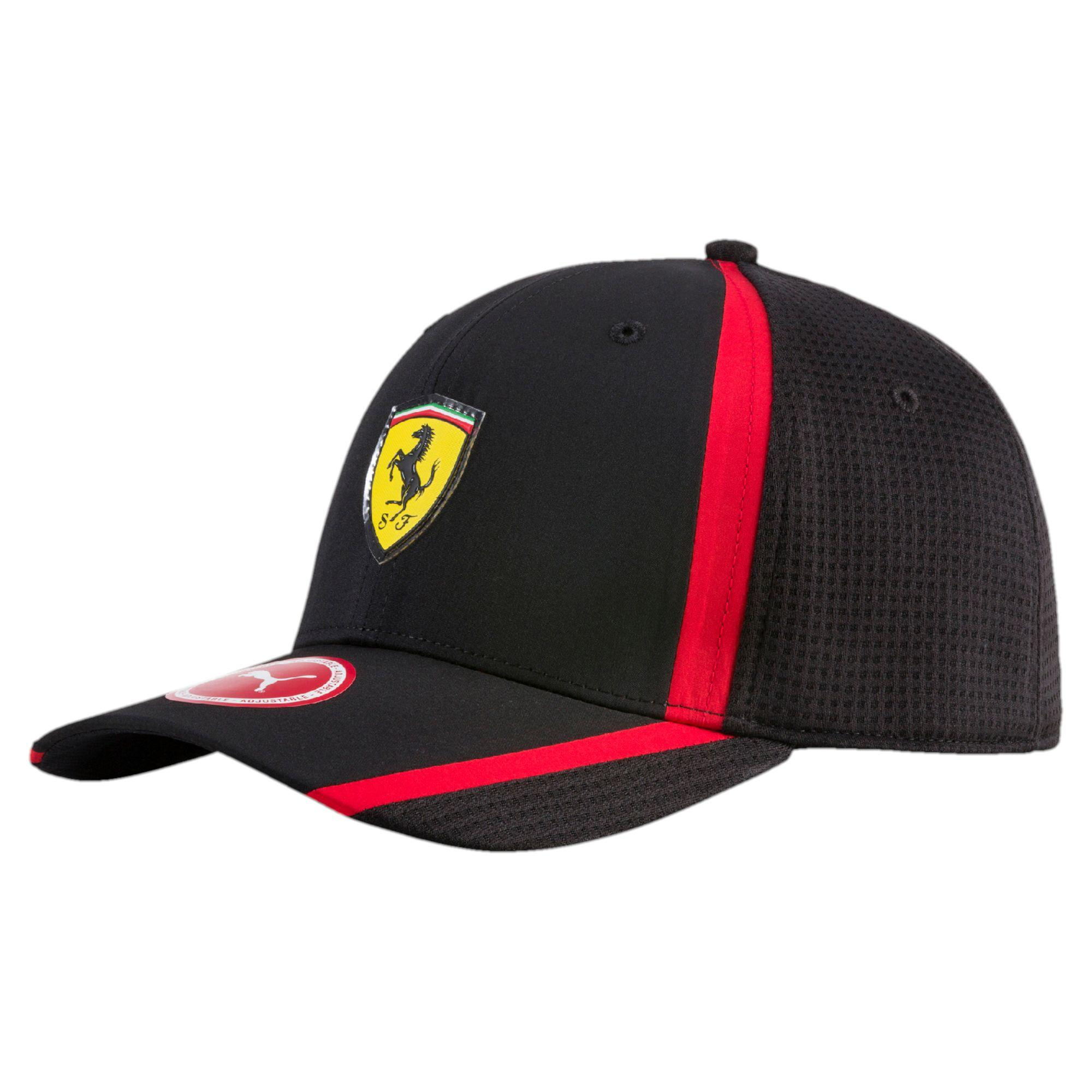 red puma motorsport ferrari skip scuderia adult sports baseball hats itm uk caps