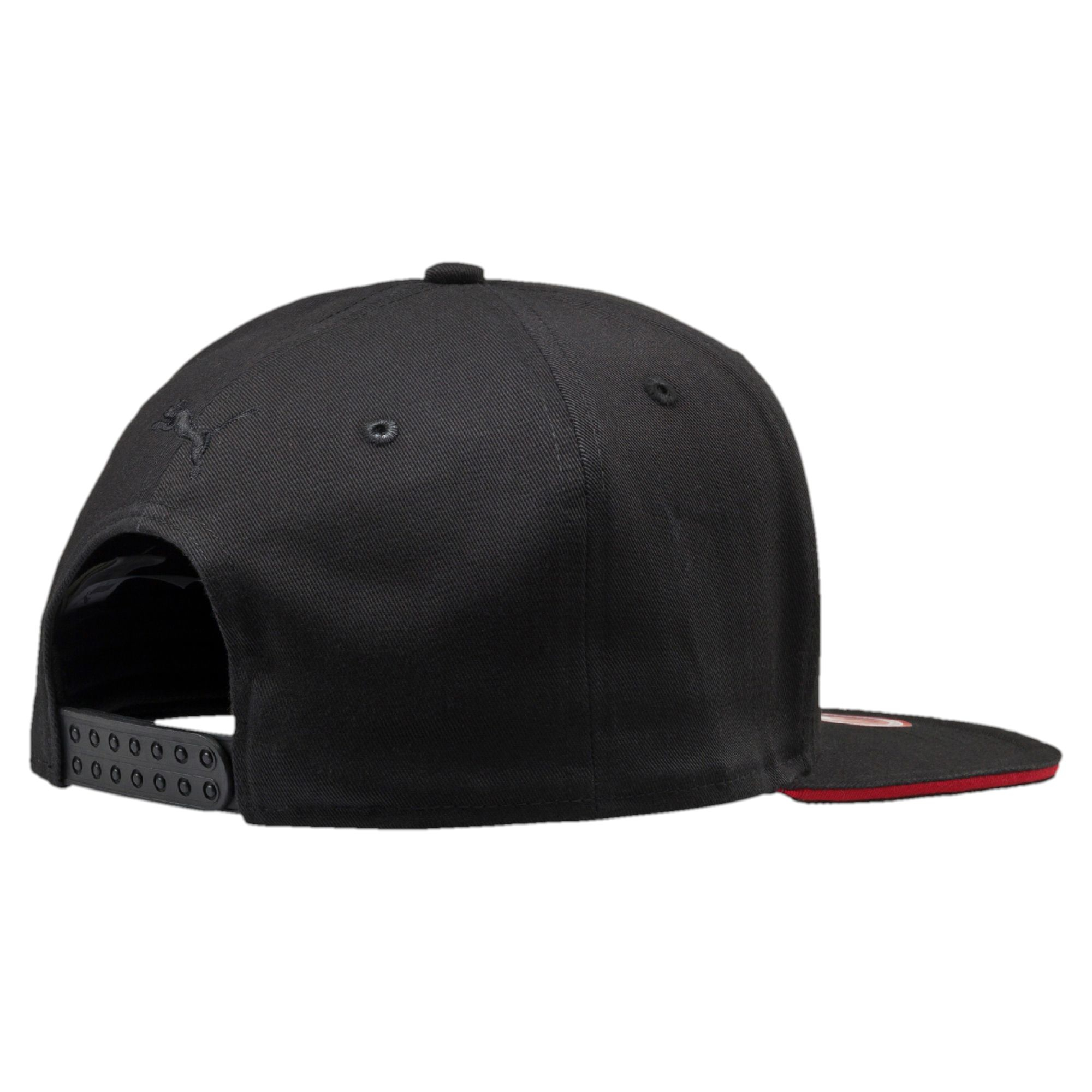 c9ffedf8ce0 Lyst - PUMA Ferrari Flat Out Snapback Hat in Black for Men