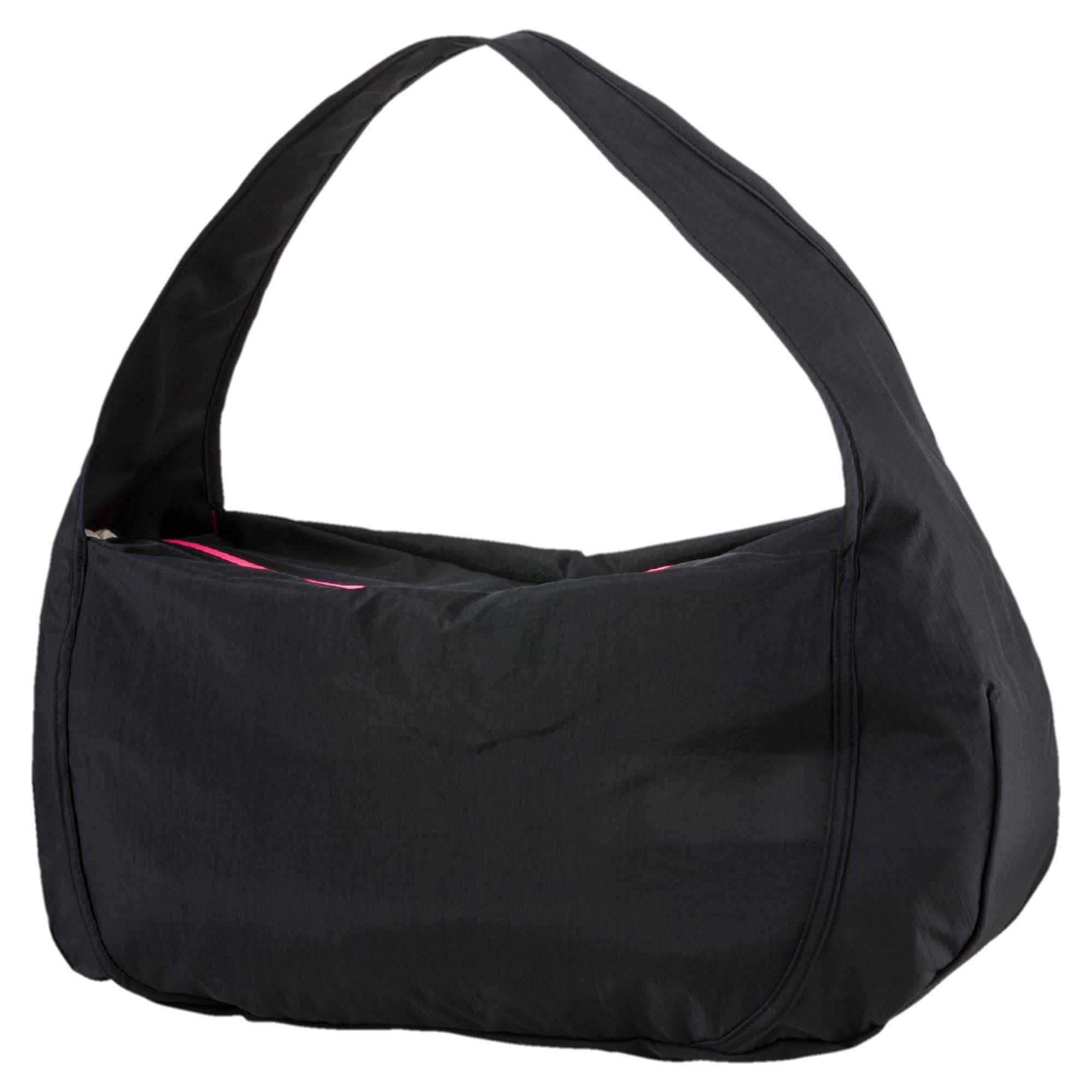 Lyst - PUMA Studio Barrel Duffel Bag in Black 6ec034f519f7f